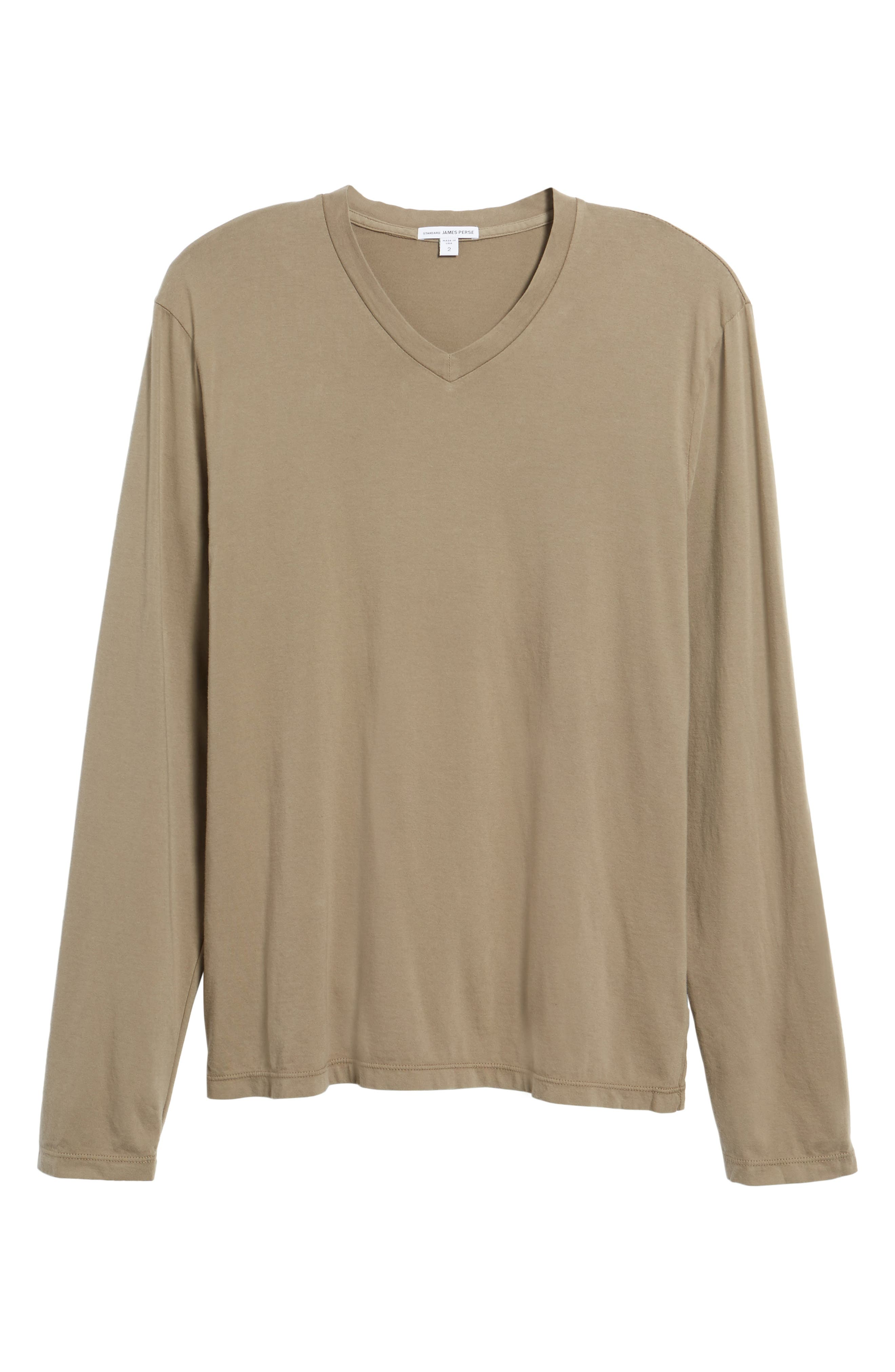 Alternate Image 6  - James Perse Suvin V-Neck Sweatshirt