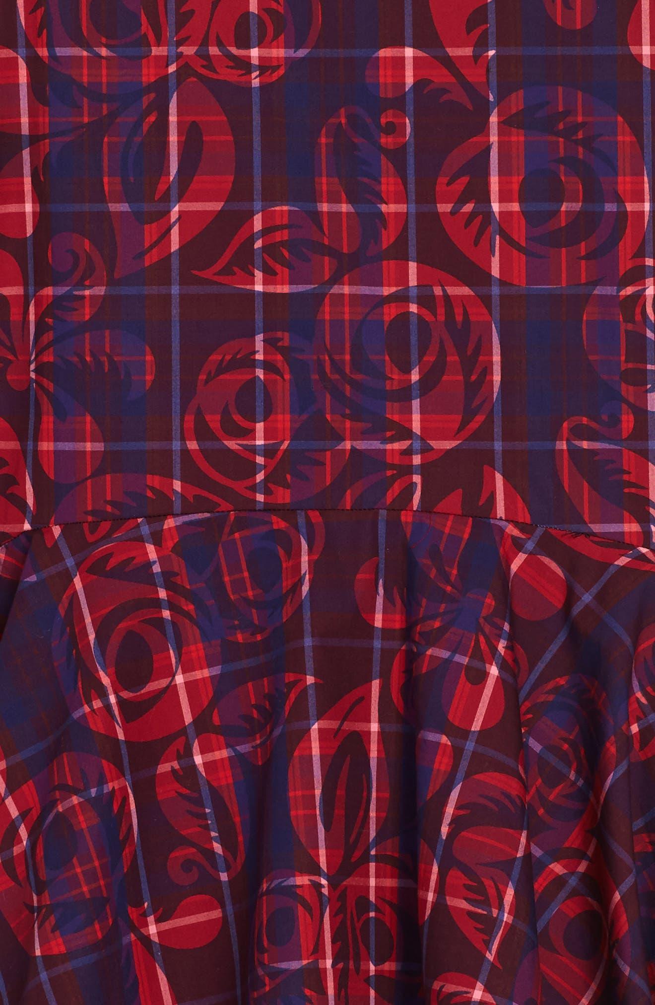 Alternate Image 2  - Tea Collection Culzean Plaid Dress (Toddler Girls, Little Girls & Big Girls)