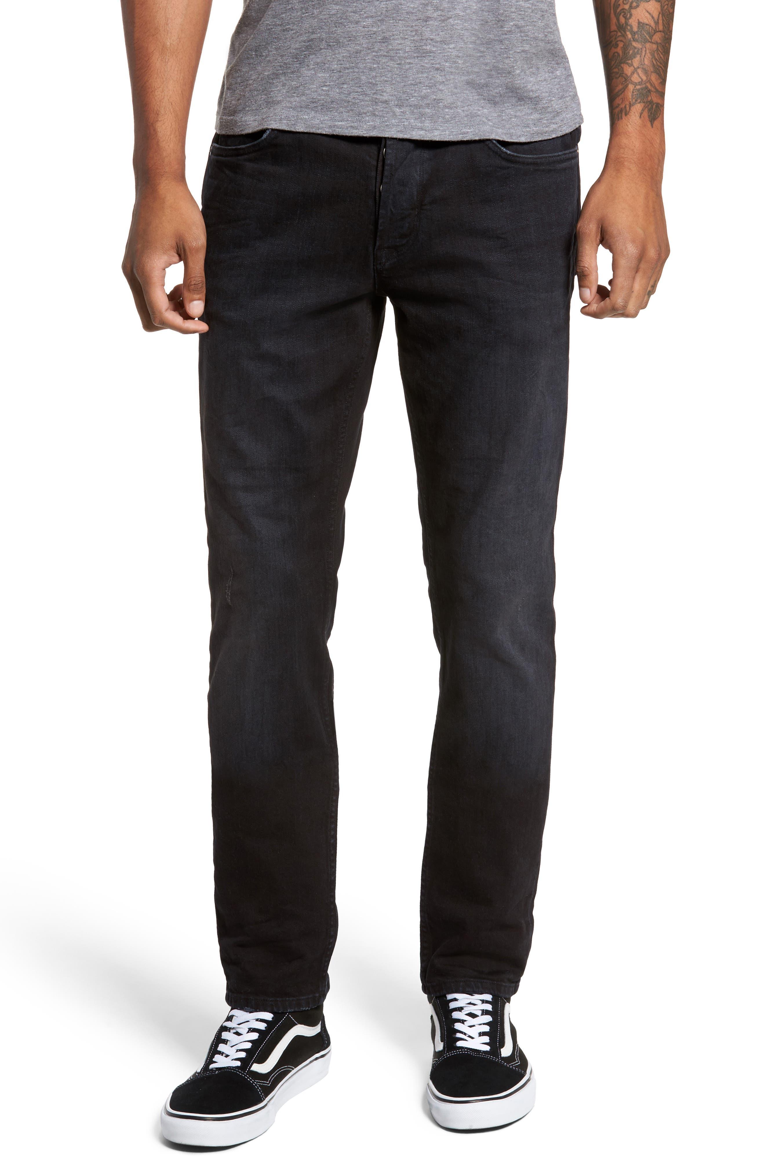 Main Image - Hudson Jeans Sartor Skinny Fit Jeans (Low Key)
