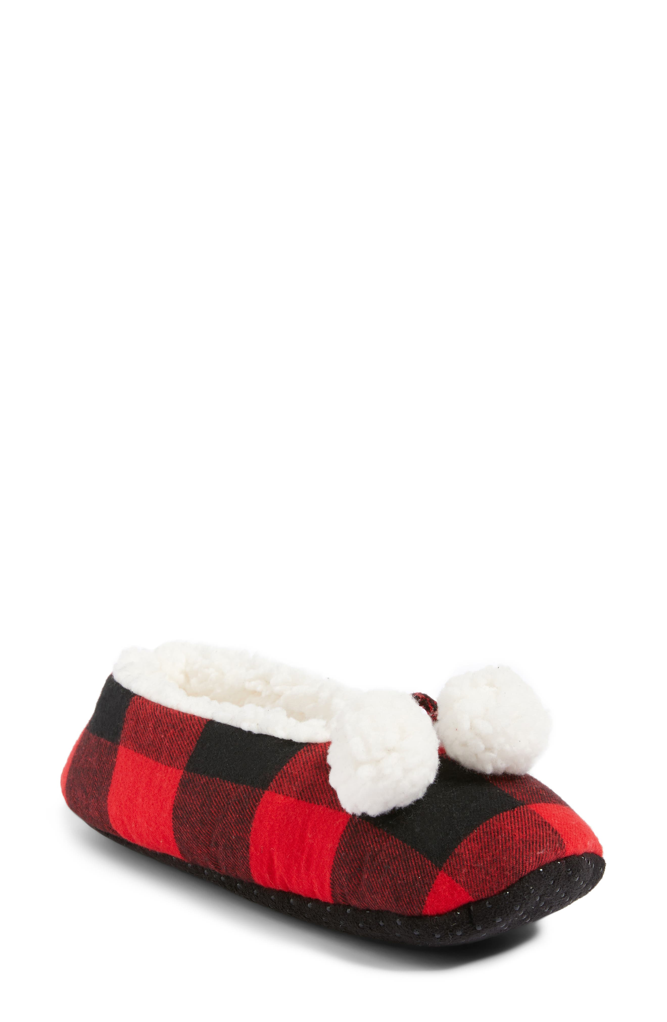 Alternate Image 1 Selected - Make + Model Plaid Slippers