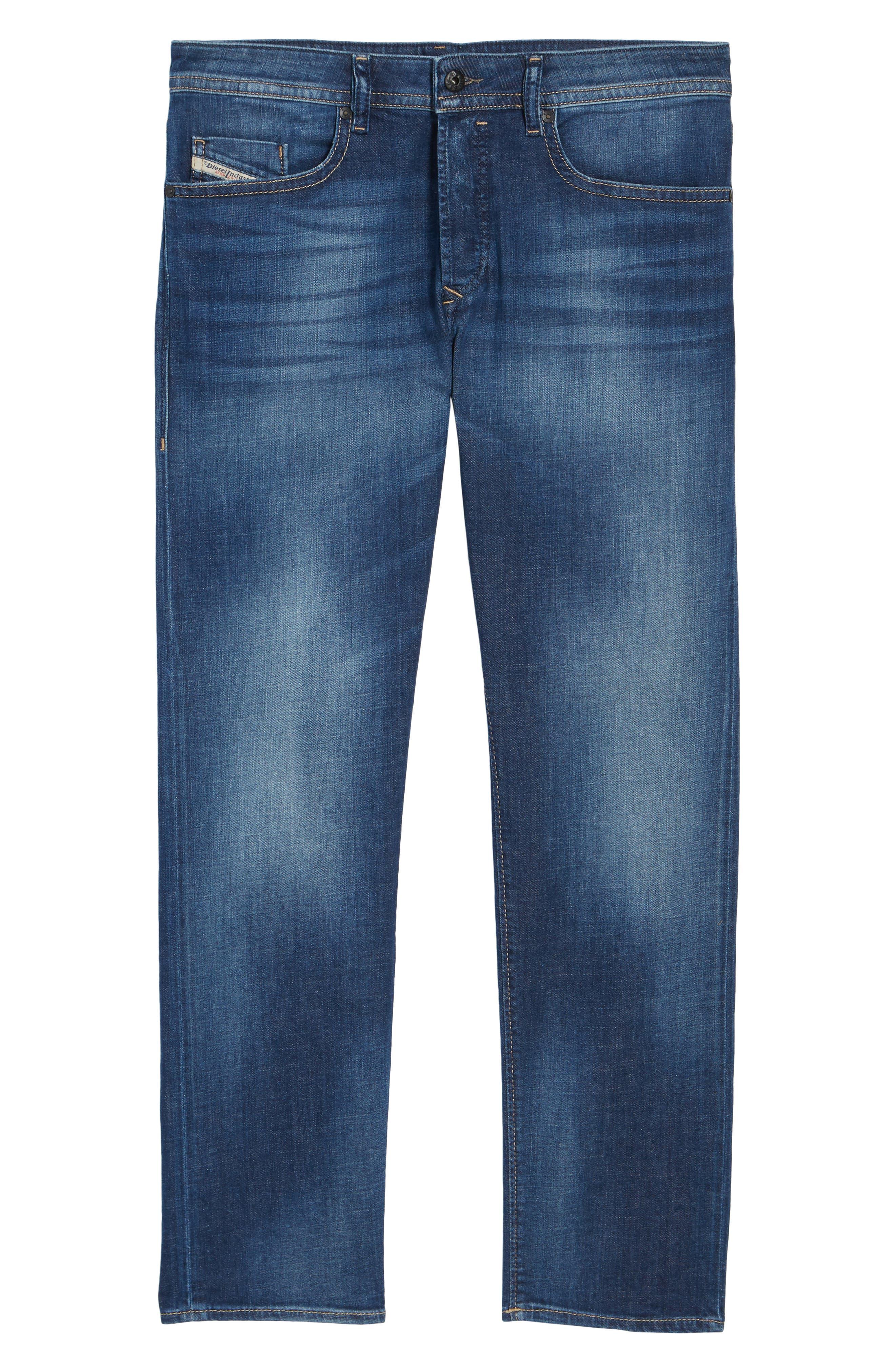 Alternate Image 6  - DIESEL® Buster Slim Straight Leg Jeans (084GR)