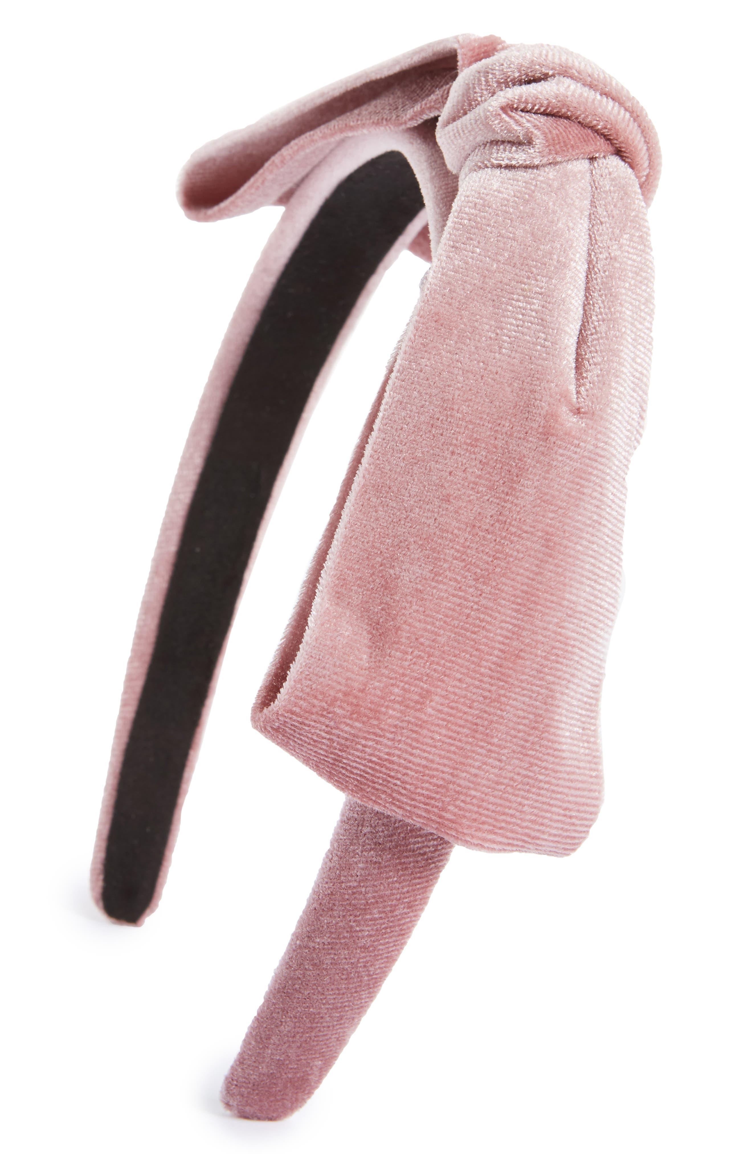 Cara Velvet Bow Headband