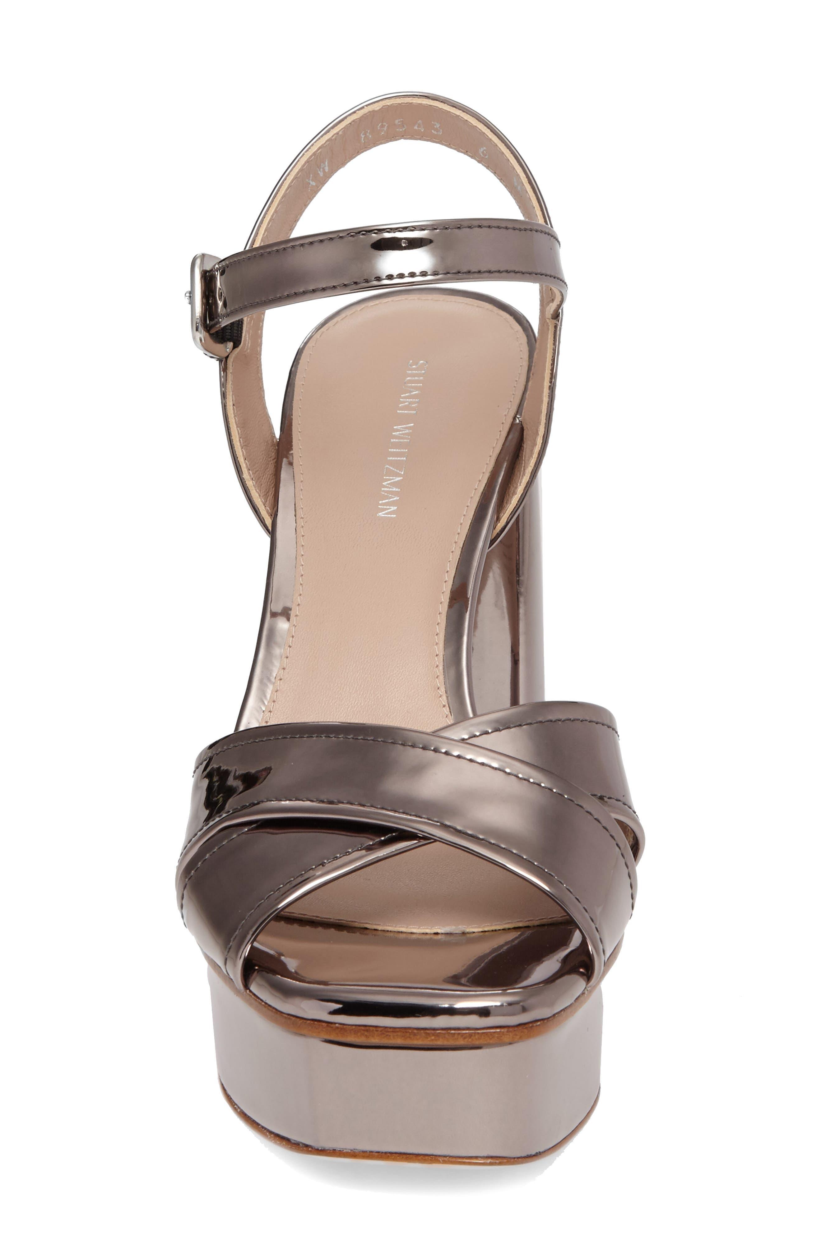 Alternate Image 4  - Stuart Weitzman Exposed Platform Sandal (Women)