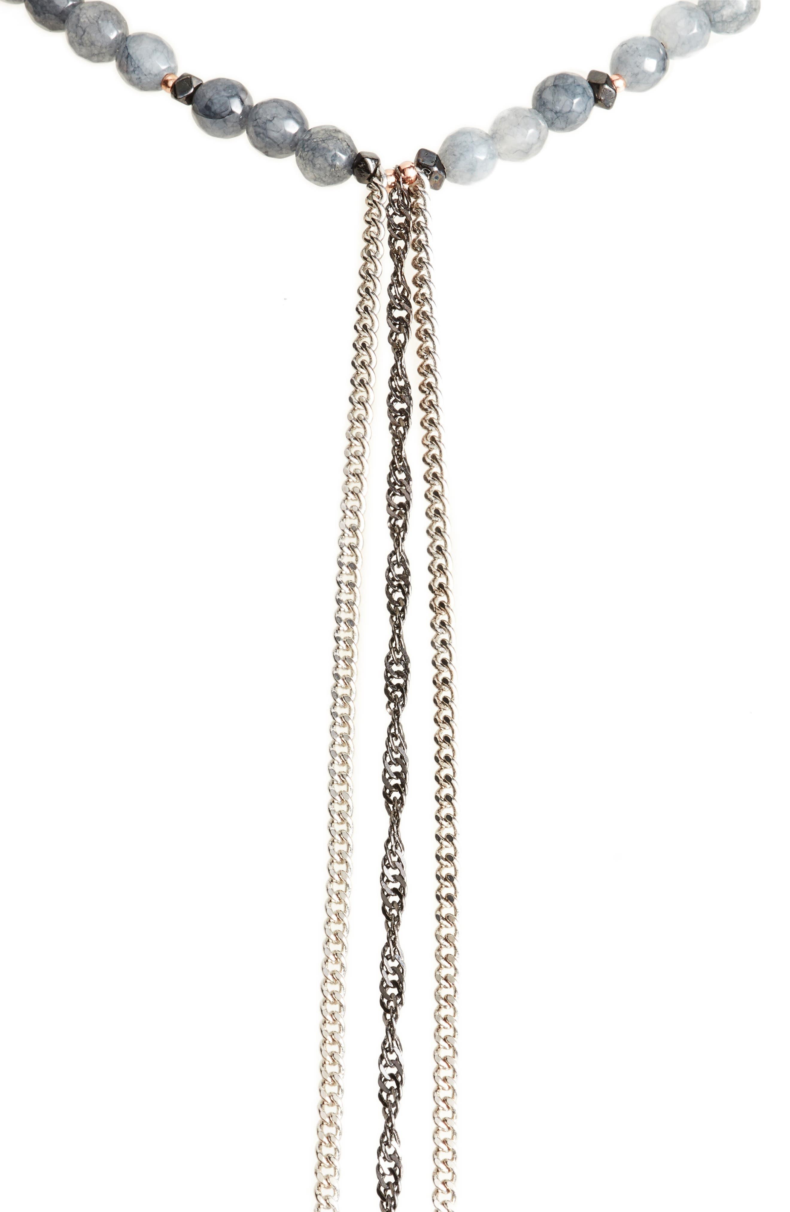 Alternate Image 2  - Nakamol Design Chain Tassel Necklace