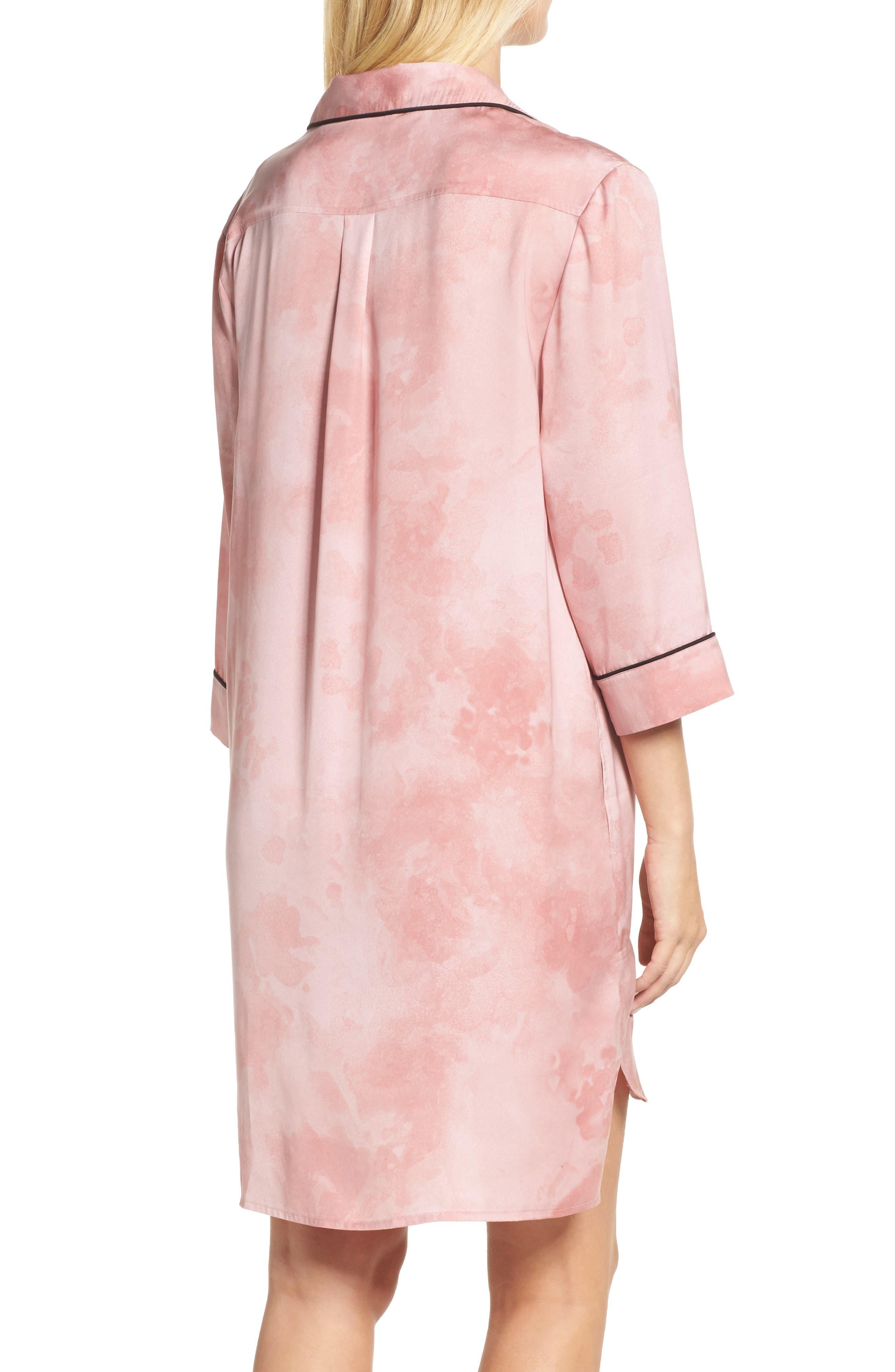 Alternate Image 2  - DKNY Washed Satin Sleep Shirt
