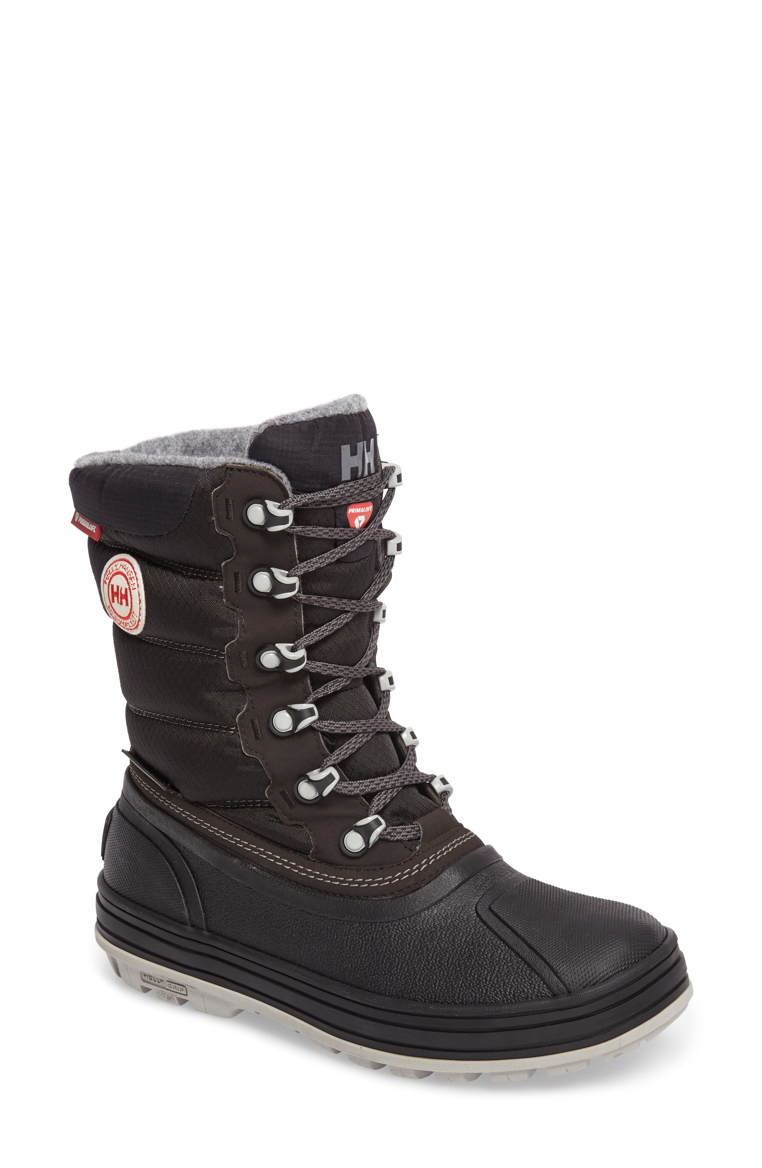 Tundra CWB Snow Boot,                             Main thumbnail 1, color,                             Jet Black