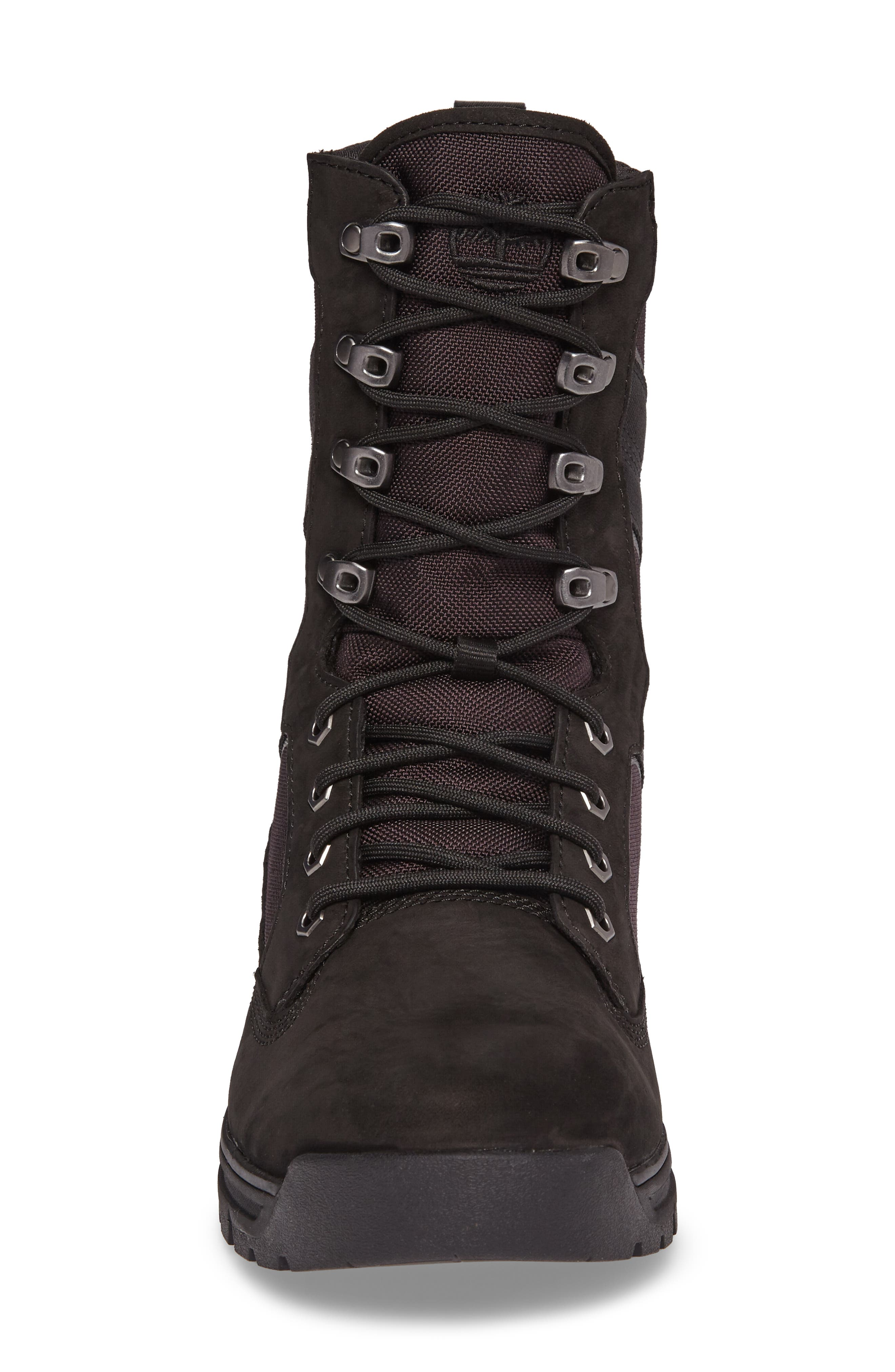 Field Guide Boot,                             Alternate thumbnail 4, color,                             Black Leather