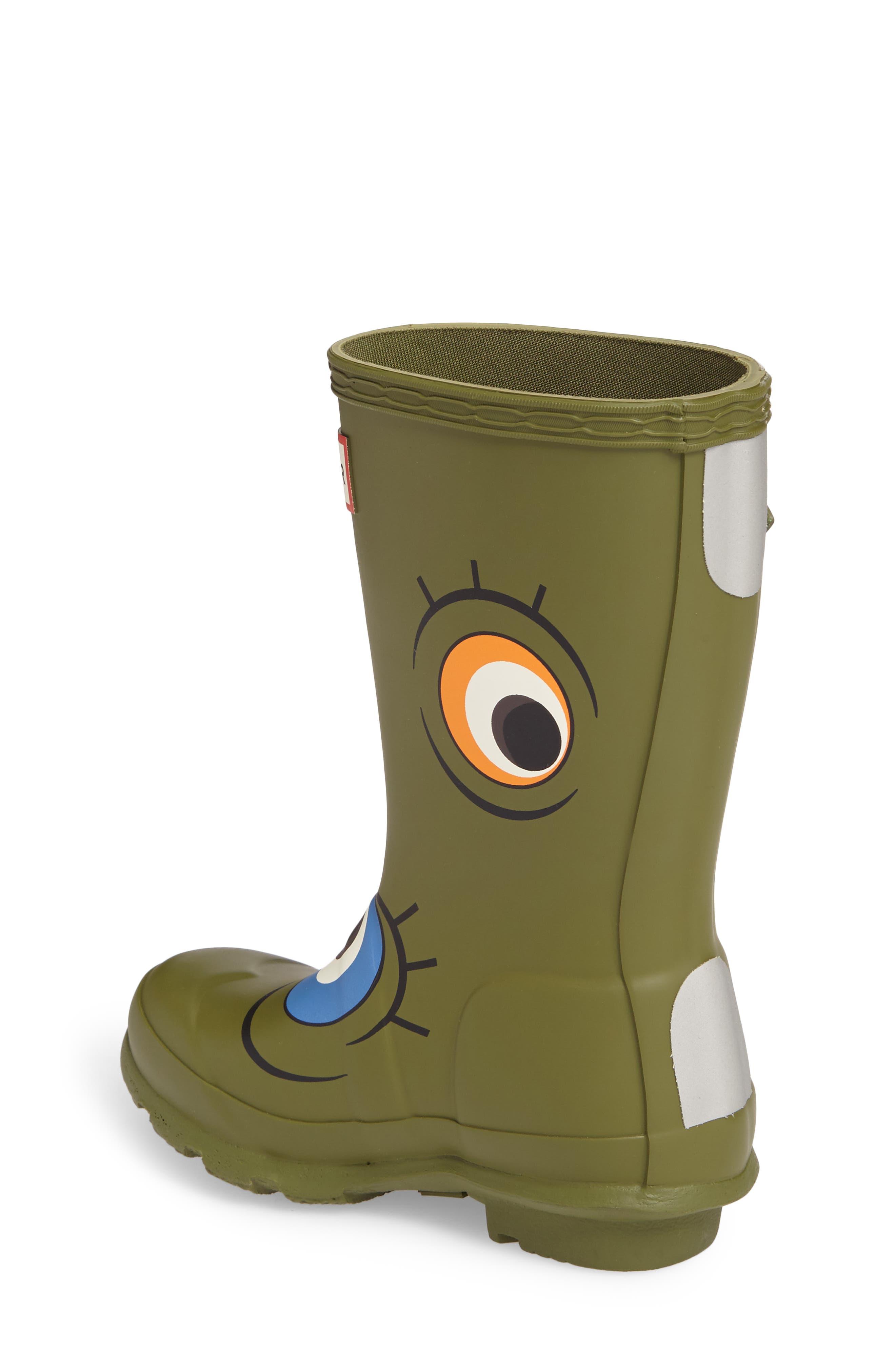 Alternate Image 2  - Hunter Alien Waterproof Rain Boot (Toddler)