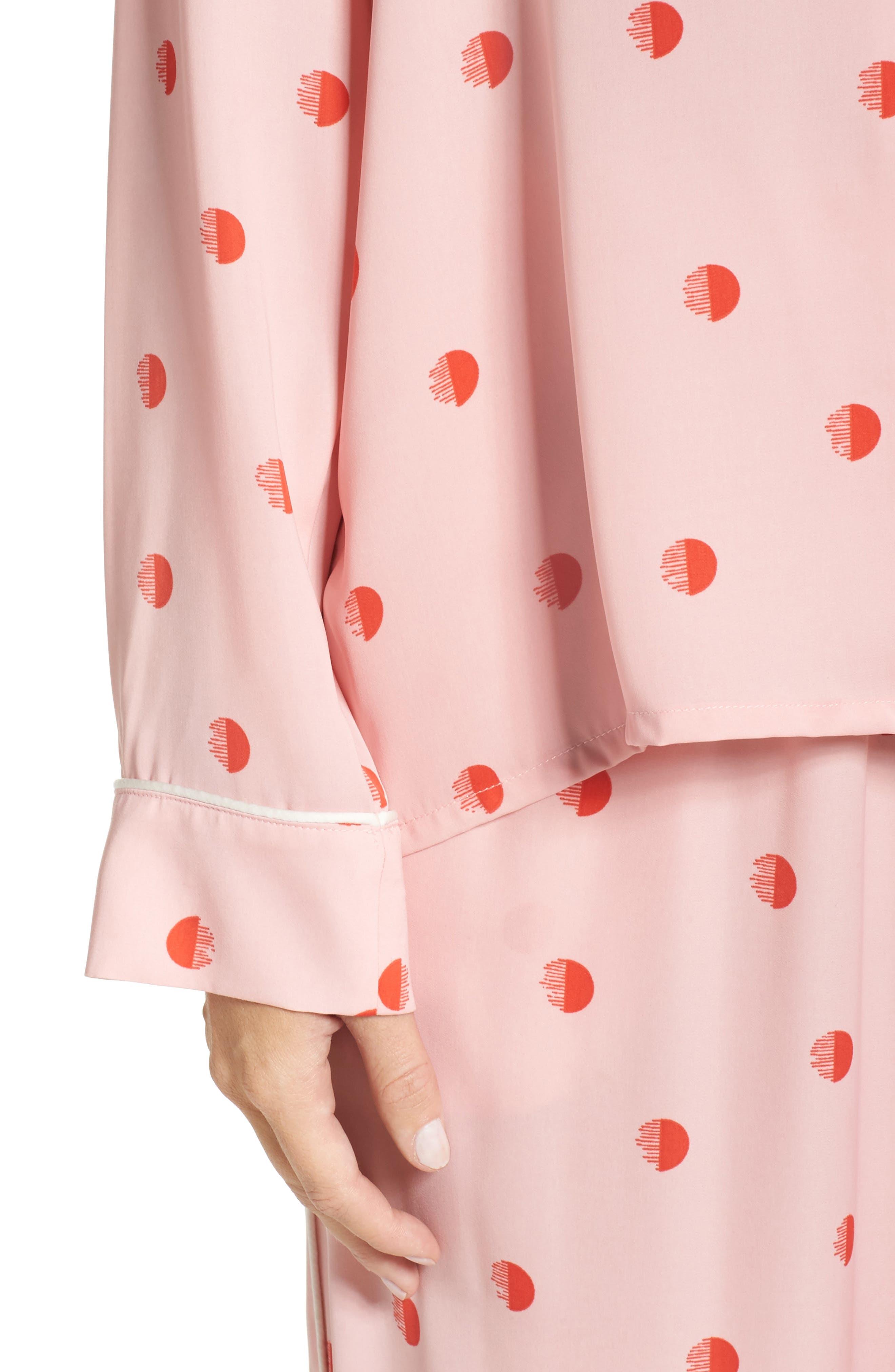 Alternate Image 4  - DKNY Washed Satin Pajamas
