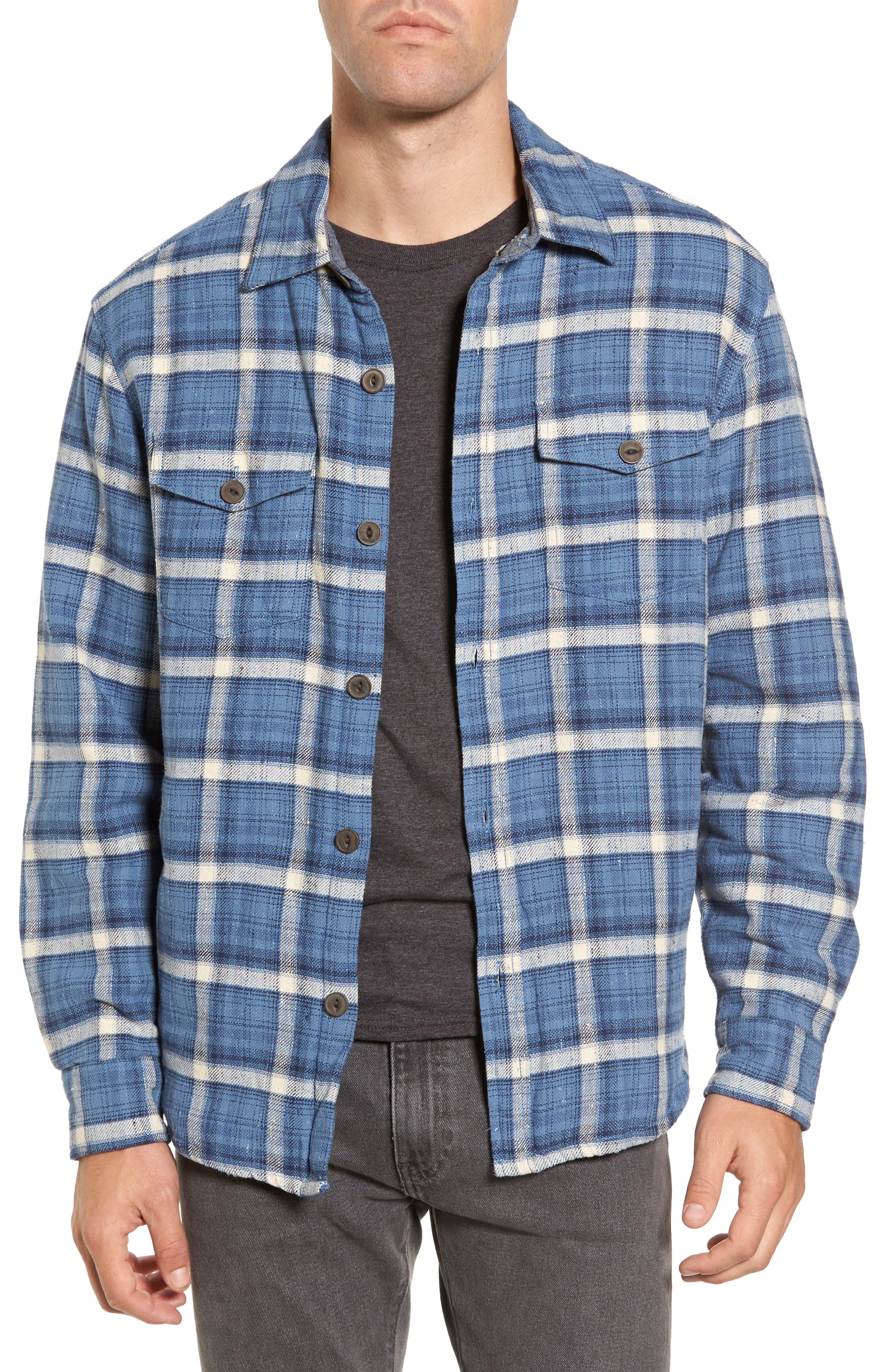 True Grit Summit Plaid Faux Shearling Lined Shirt Jacket