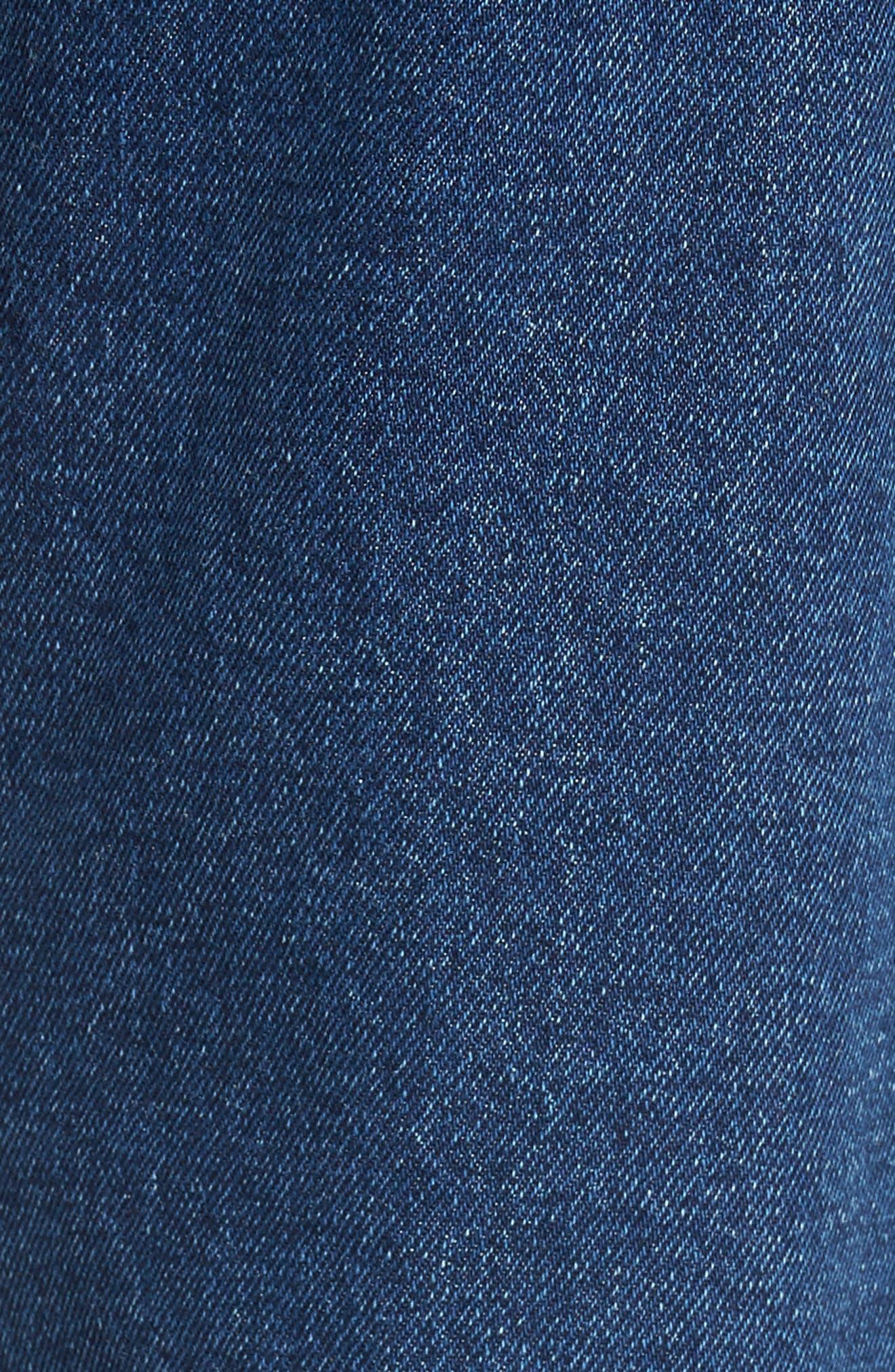 90s Classic Straight Leg Jeans,                             Alternate thumbnail 5, color,                             Denim Blue