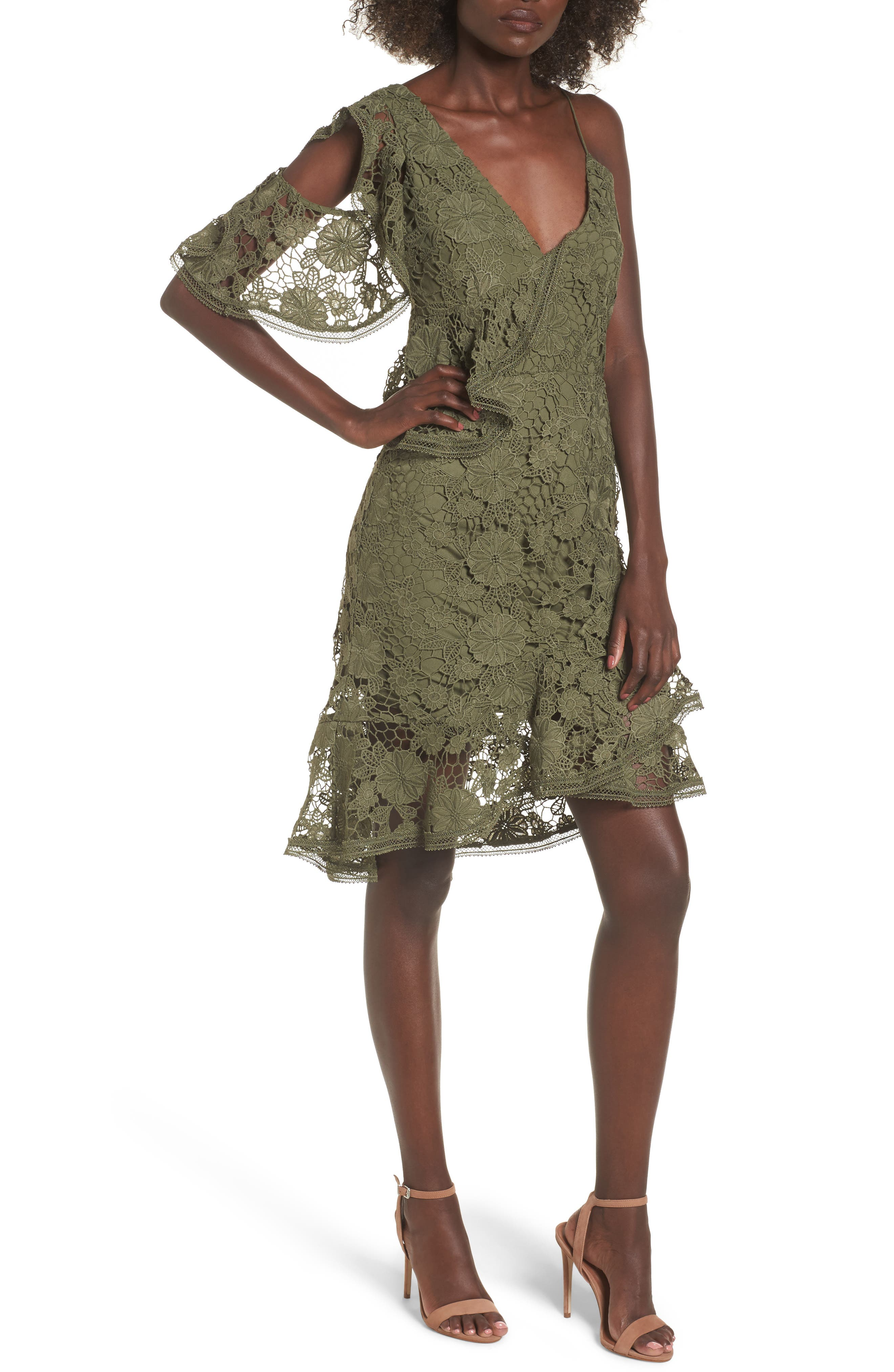 Alternate Image 1 Selected - Keepsake the Label Frameless Lace Sheath Dress