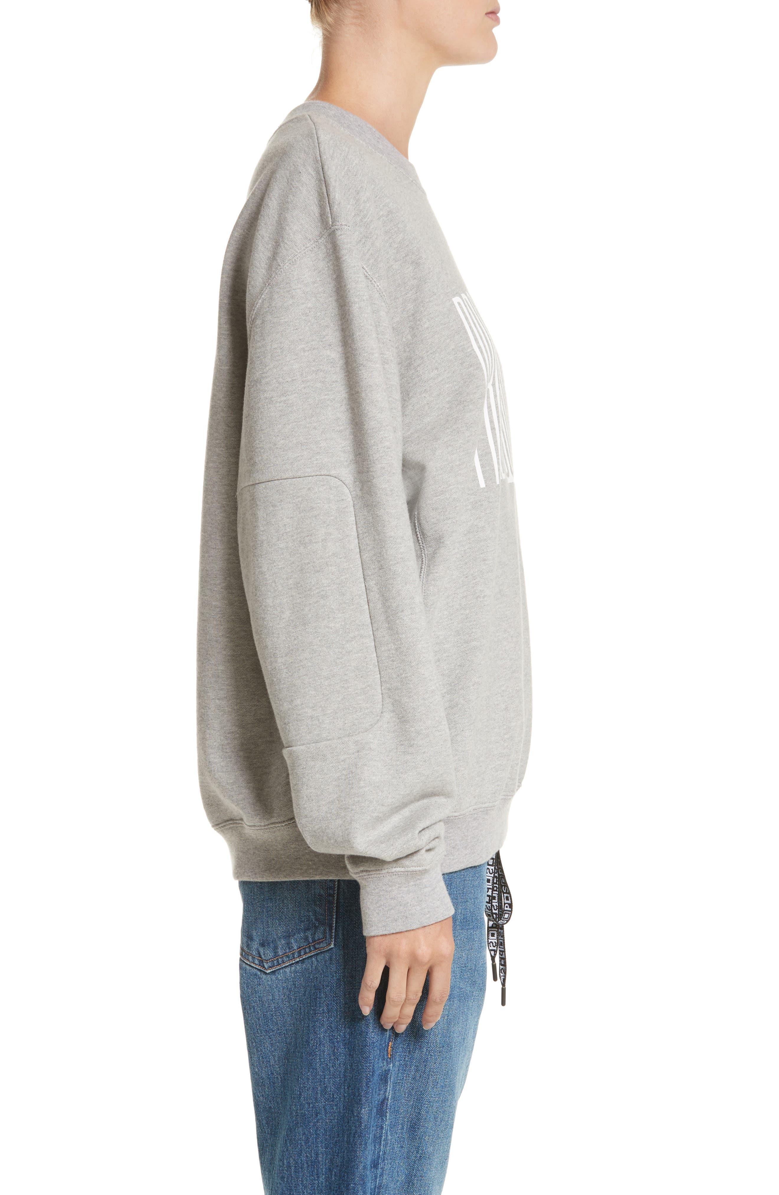 Alternate Image 3  - Proenza Schouler PSWL Graphic Jersey Oversize Sweatshirt