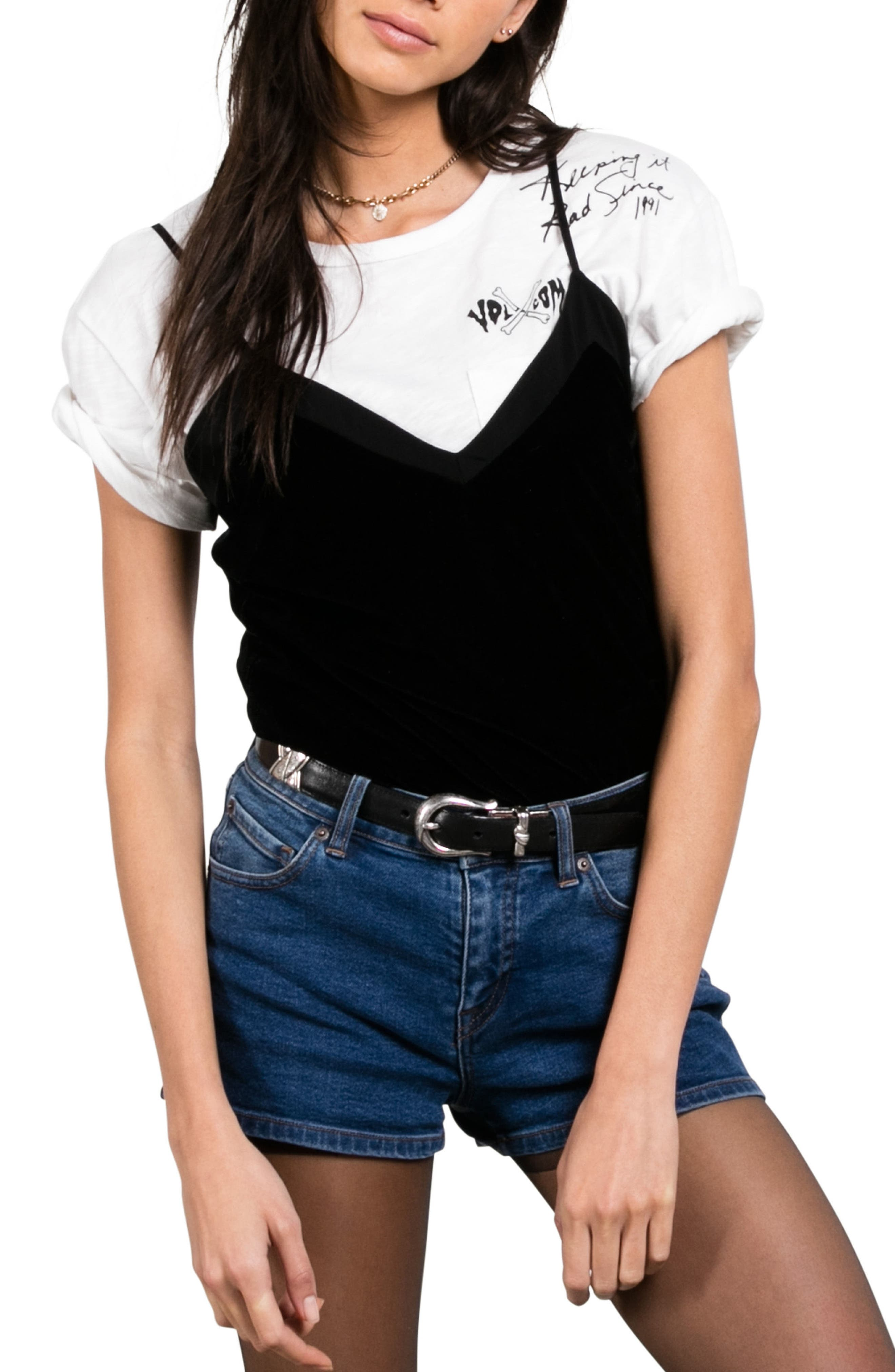 Main Image - Volcom Velour You In Camisole