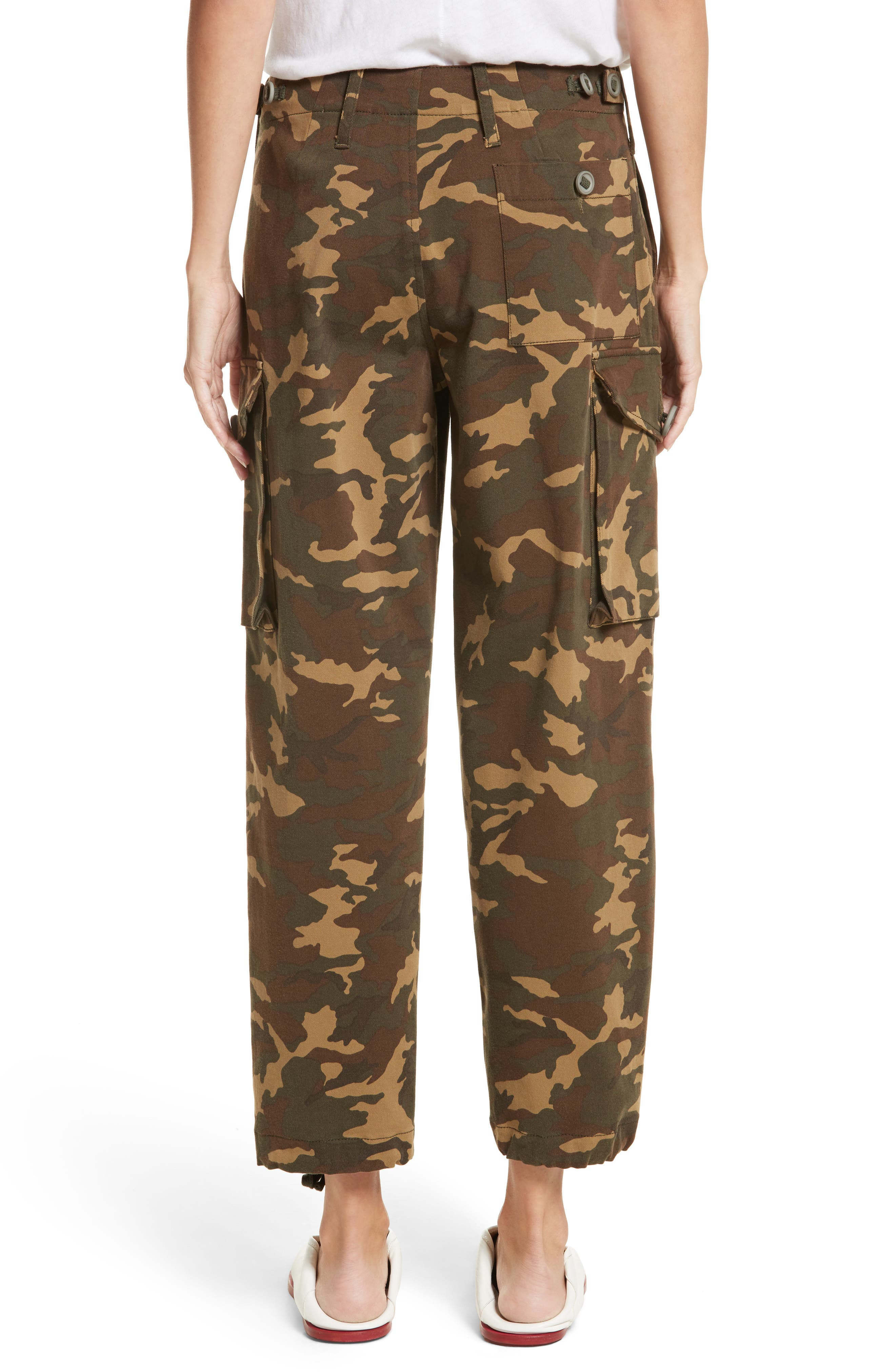 Alternate Image 2  - Proenza Schouler PSWL Camouflage Stretch Cotton Pants