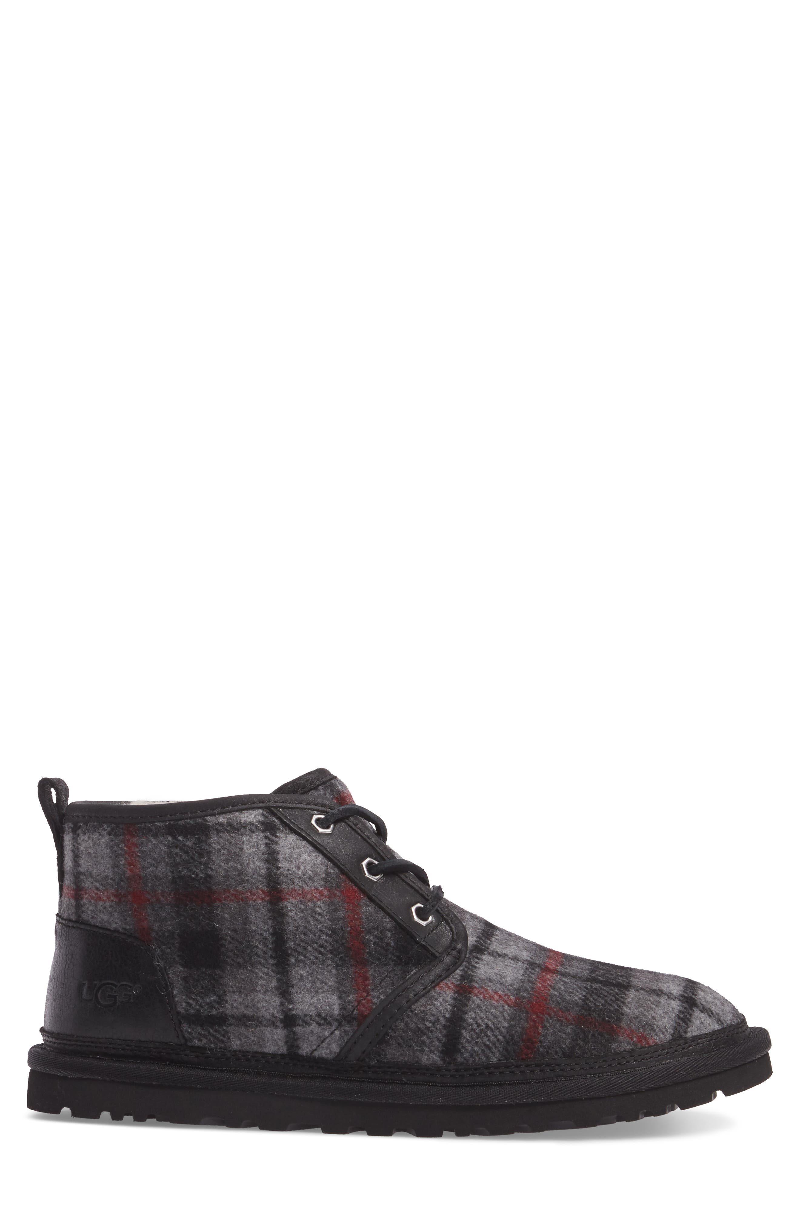 Neumel Chukka Boot,                             Alternate thumbnail 3, color,                             Tartan Plaid