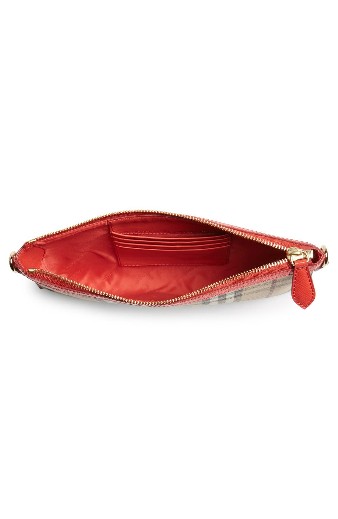 Alternate Image 4  - Burberry 'Peyton - Haymarket Check' Crossbody Bag