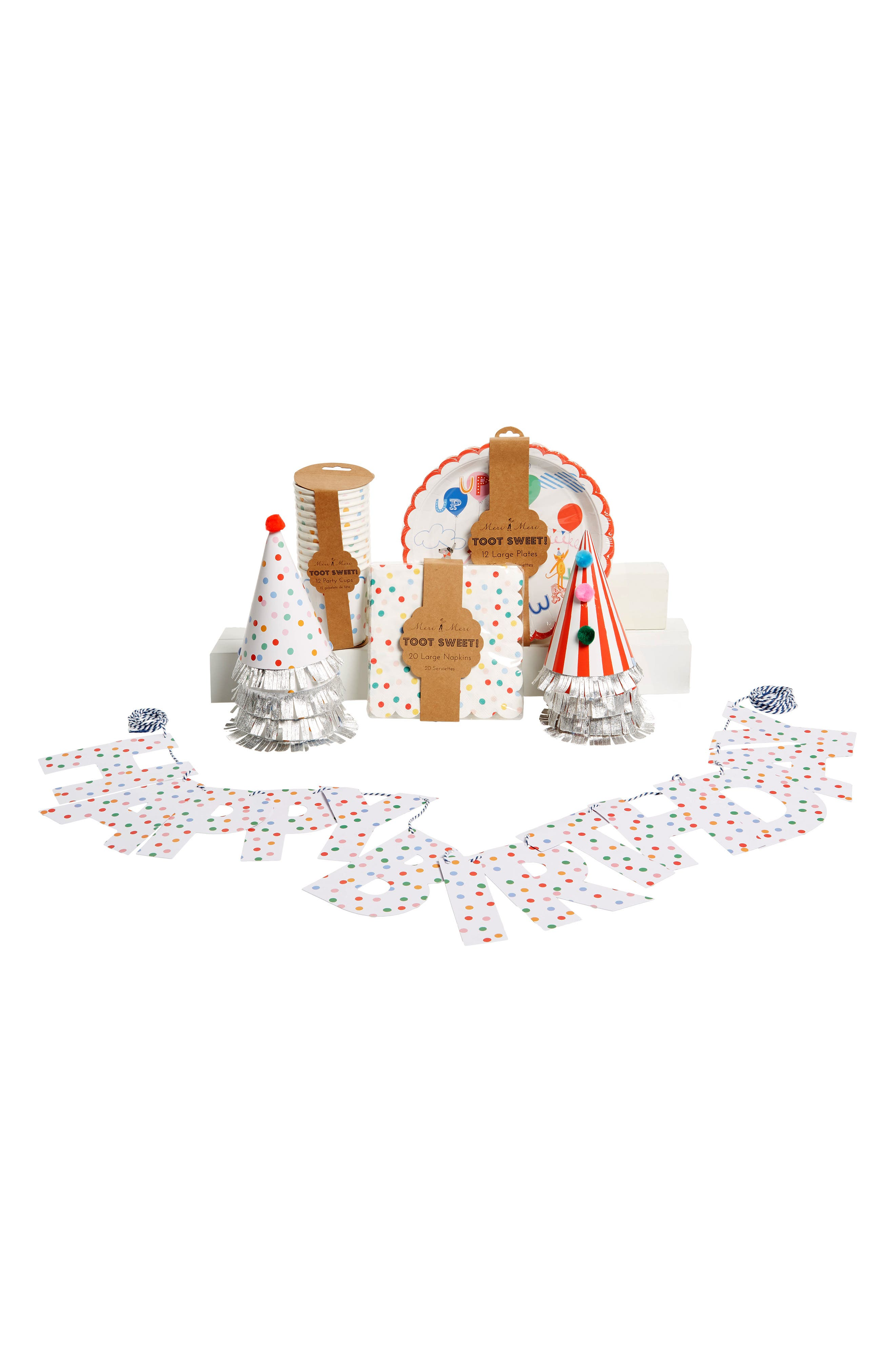 Toot Sweet Party Bundle Kit,                         Main,                         color, Blue Multi