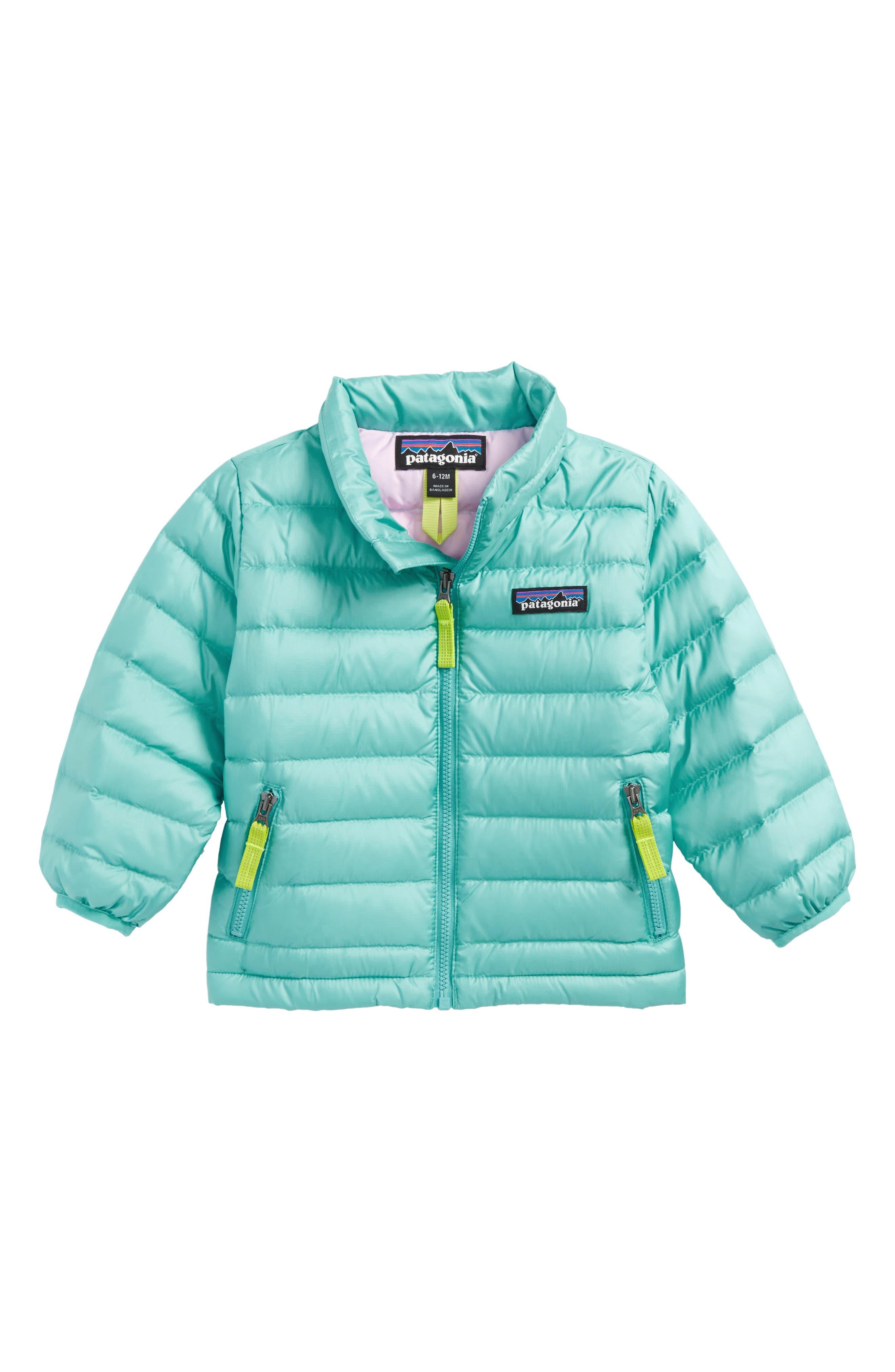 Down Sweater Jacket,                         Main,                         color, Strait Blue