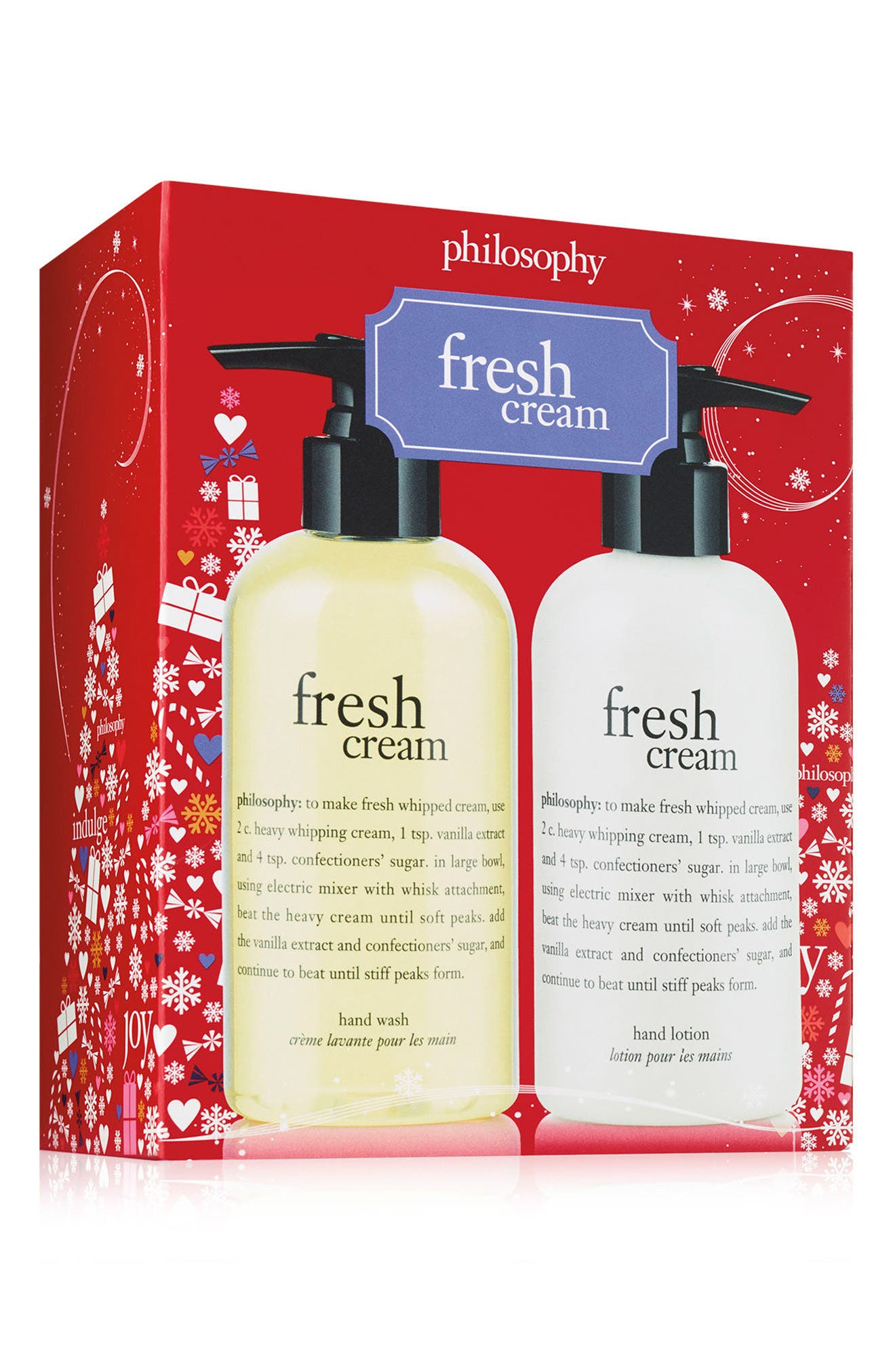 philosophy fresh cream hand care set (Limited Edition)
