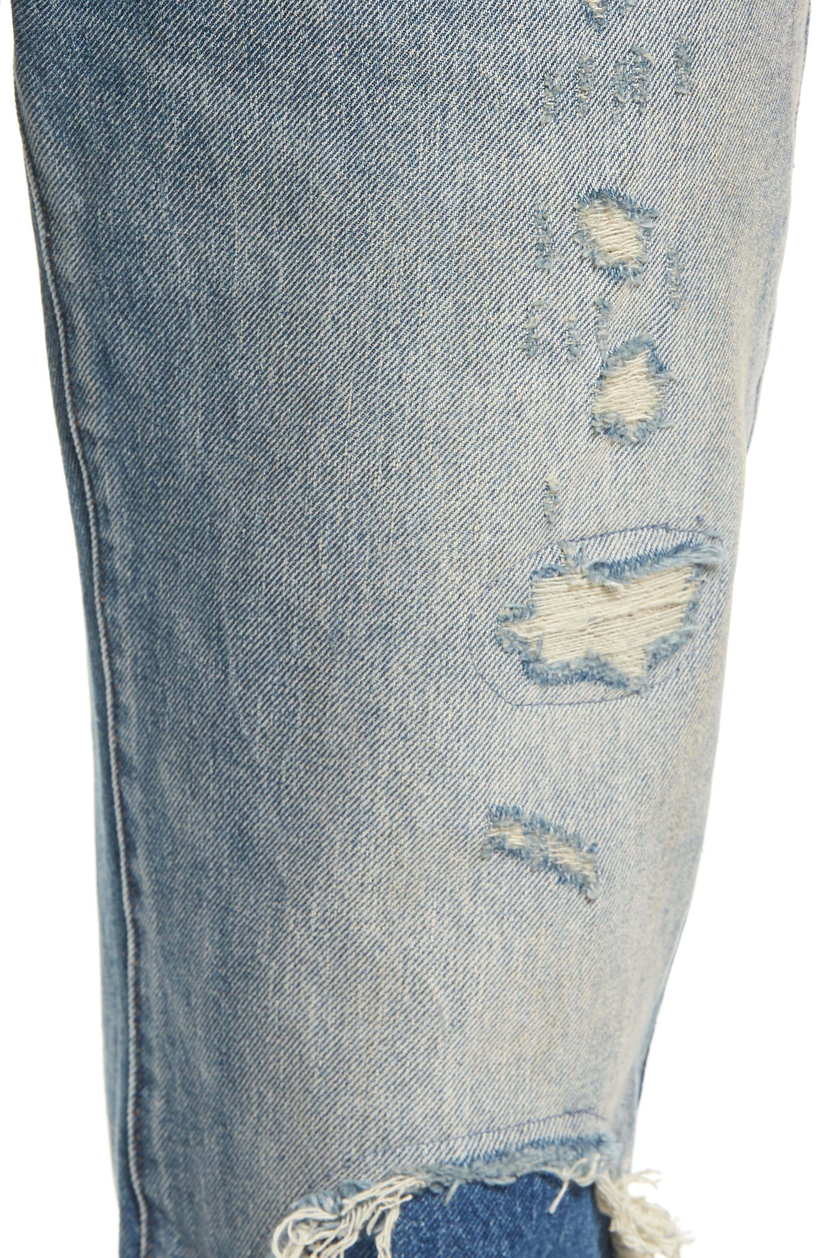 511<sup>™</sup> Slim Fit Jeans,                             Alternate thumbnail 4, color,                             Medium Blue Burn