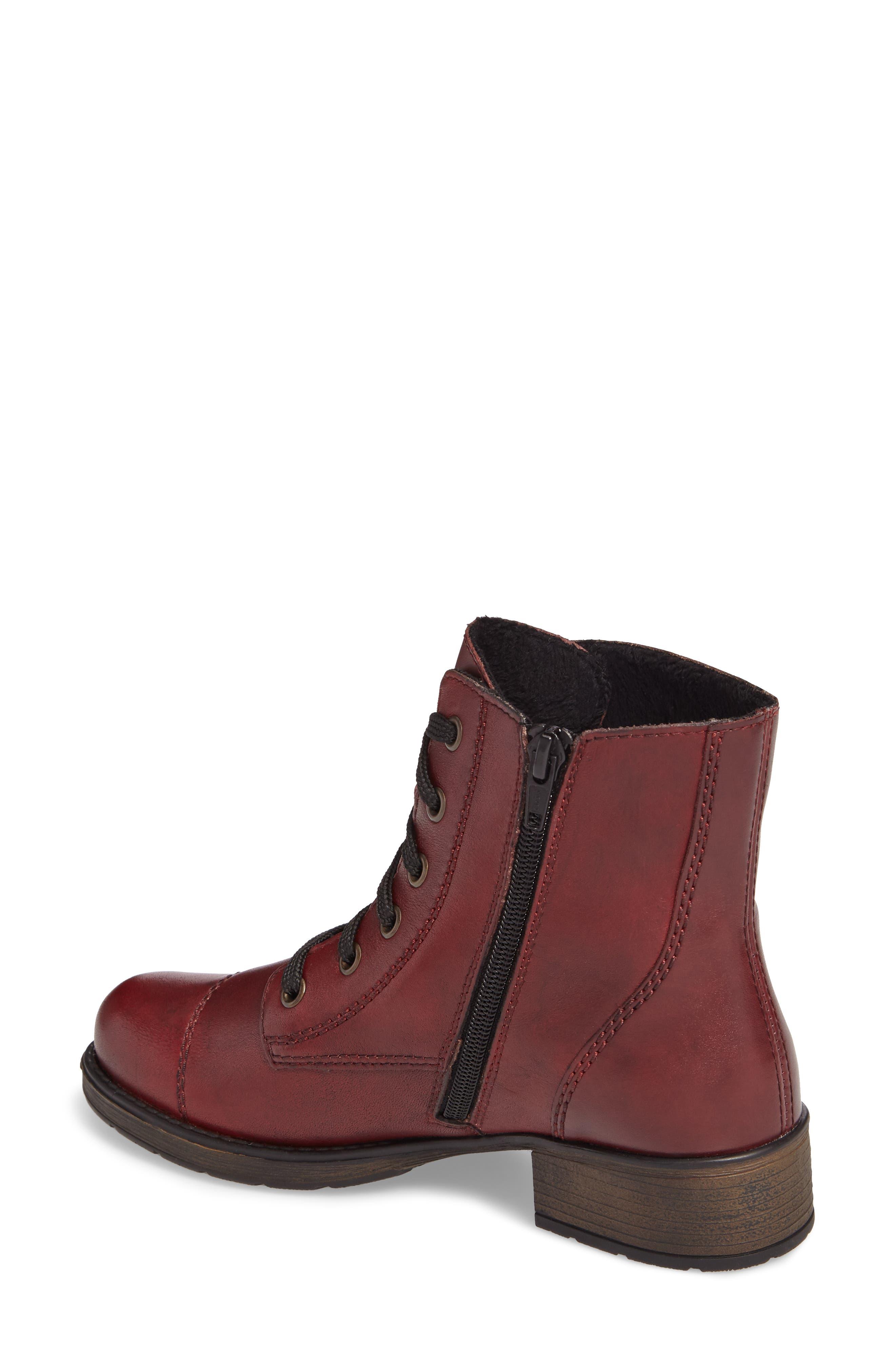 Alternate Image 2  - Rieker Antistress Faith 10 Lace-Up Boot (Women)