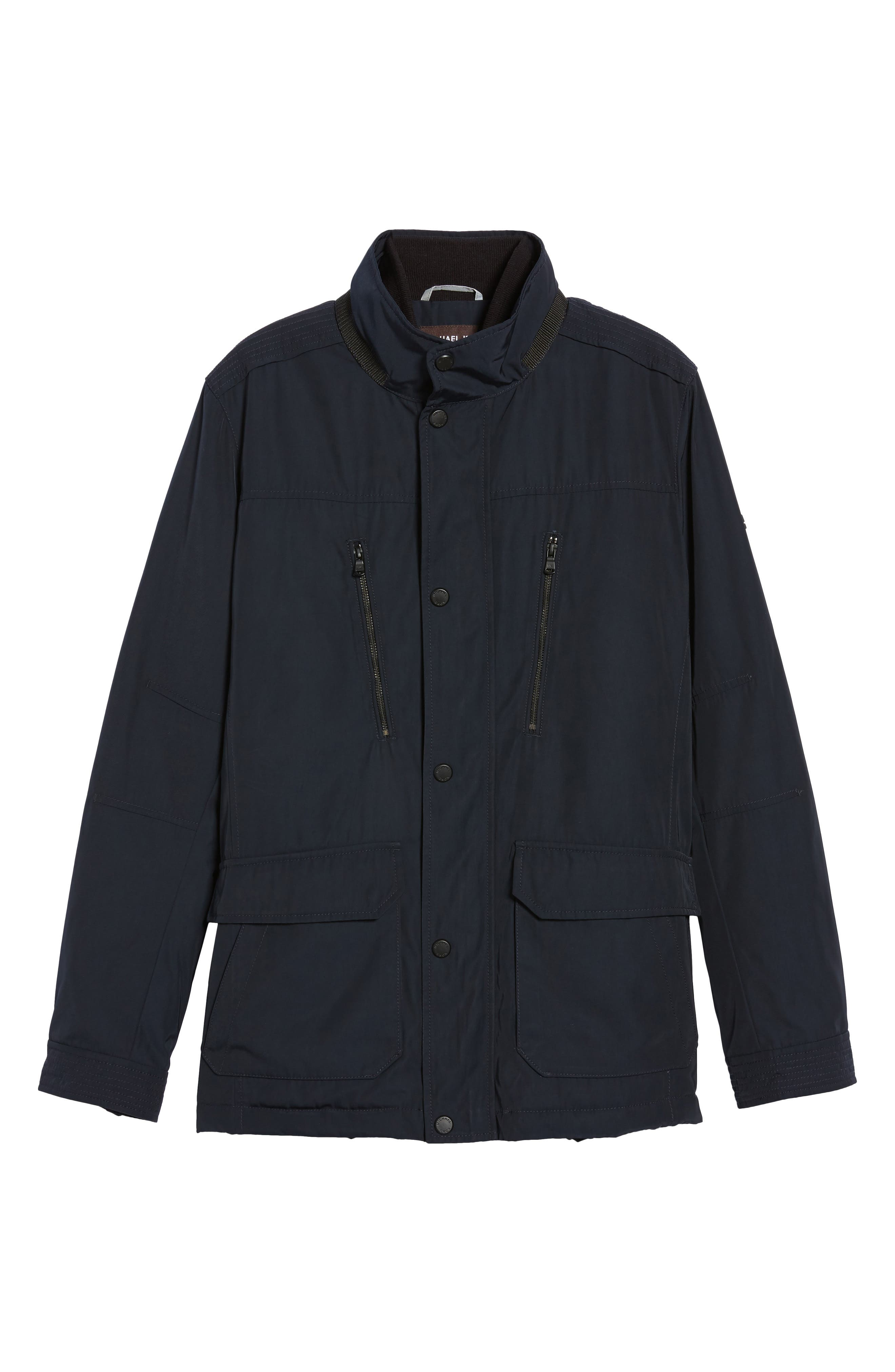Field Coat,                             Alternate thumbnail 6, color,                             Midnight Blue