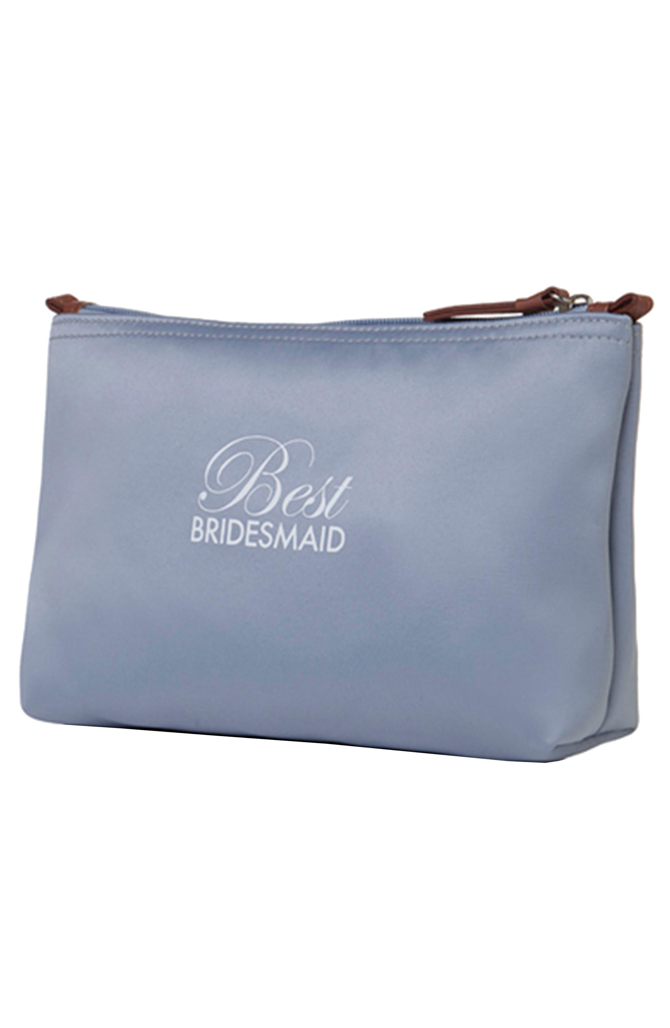 Dessy Collection 'Best Bridesmaid' Cosmetics Bag