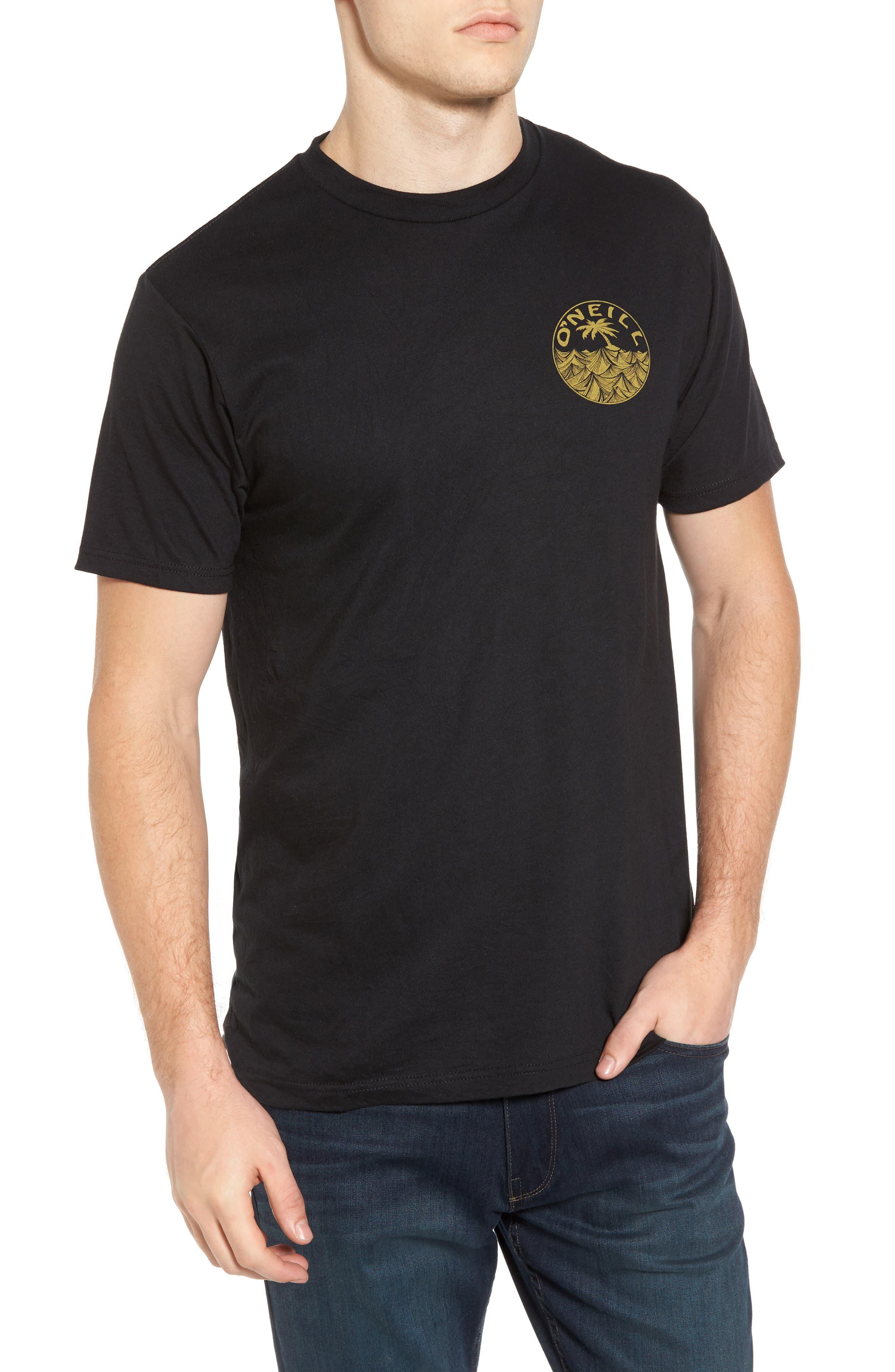 Waver Graphic T-Shirt,                         Main,                         color, Heather Black