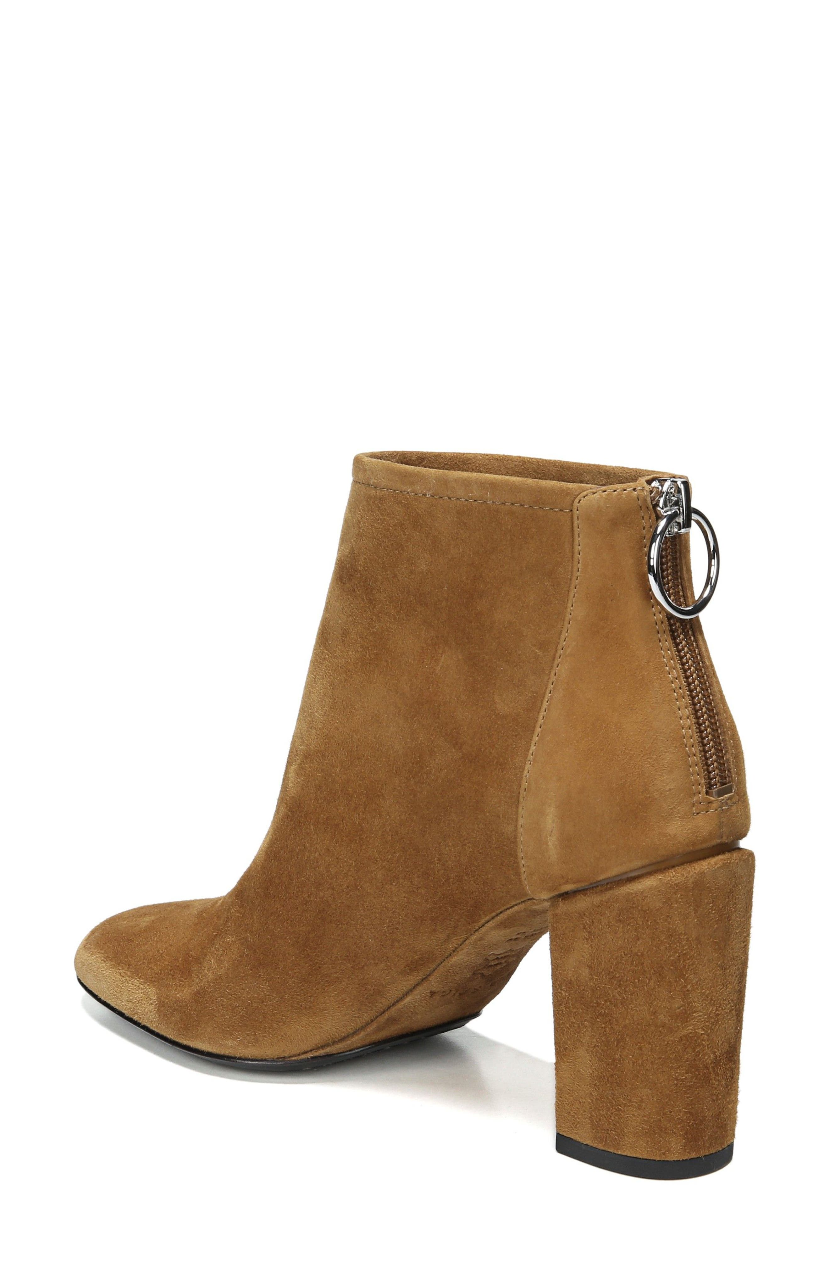 Nadia Bootie,                             Alternate thumbnail 2, color,                             Cuoio Suede