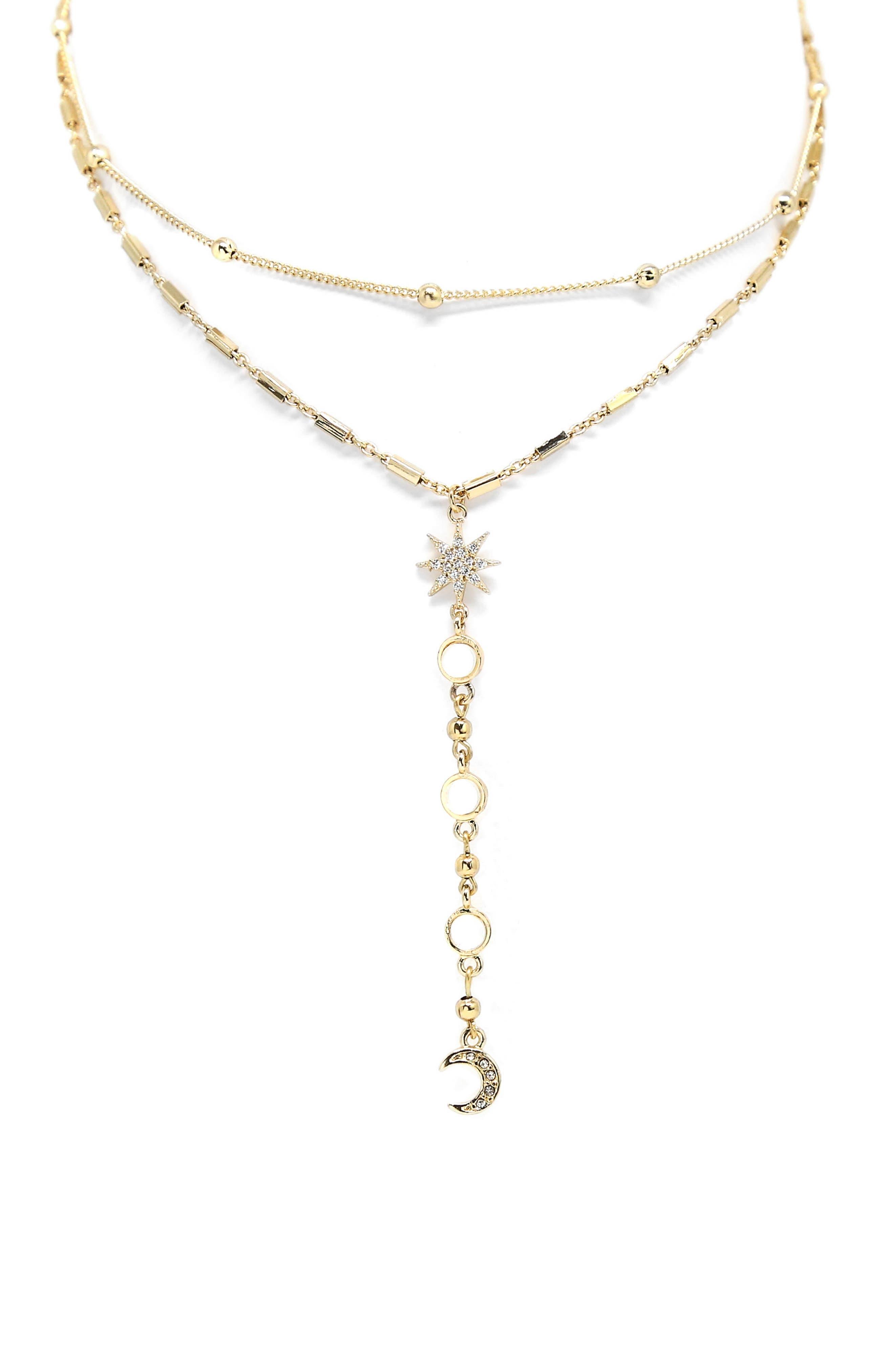 Main Image - Ettika Lariat Choker Necklace
