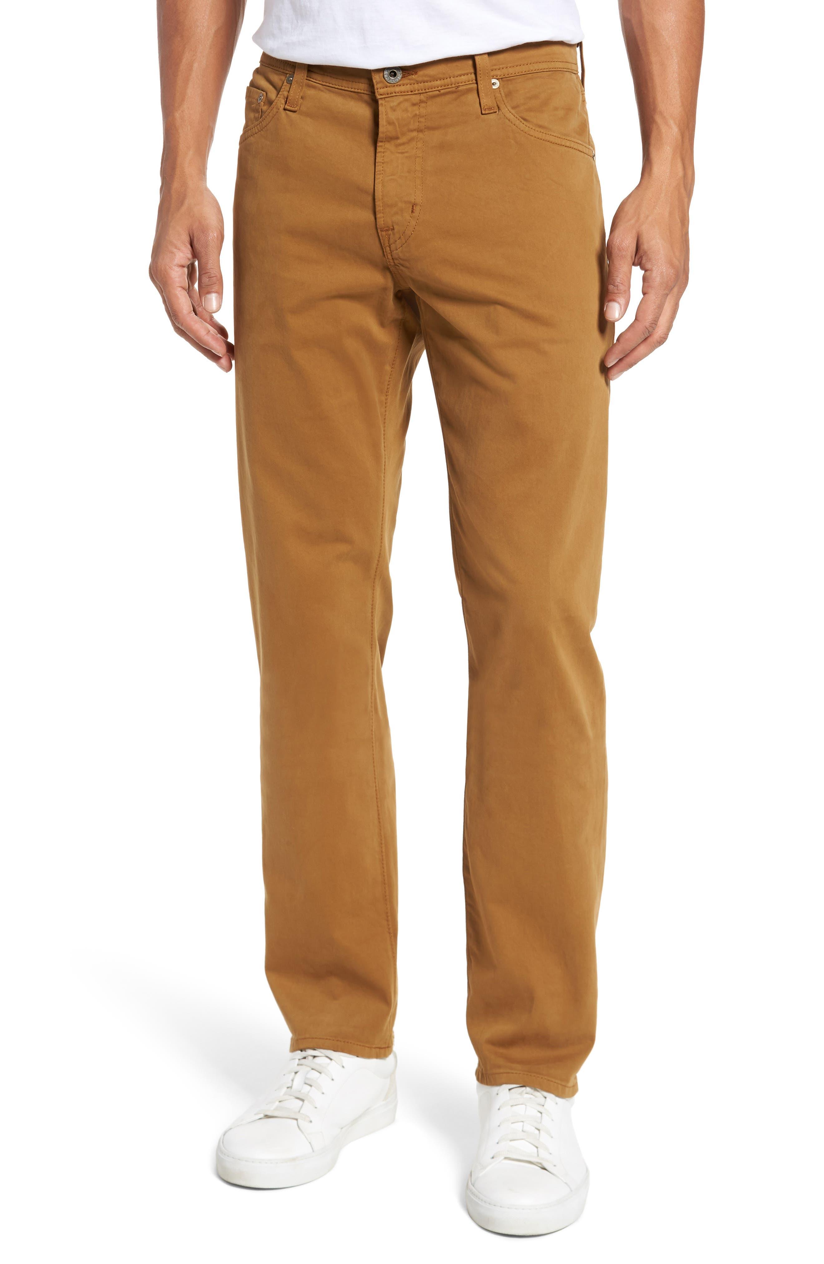 Graduate SUD Slim Straight Leg Pants,                         Main,                         color, Burnt Saffron (Bfn)