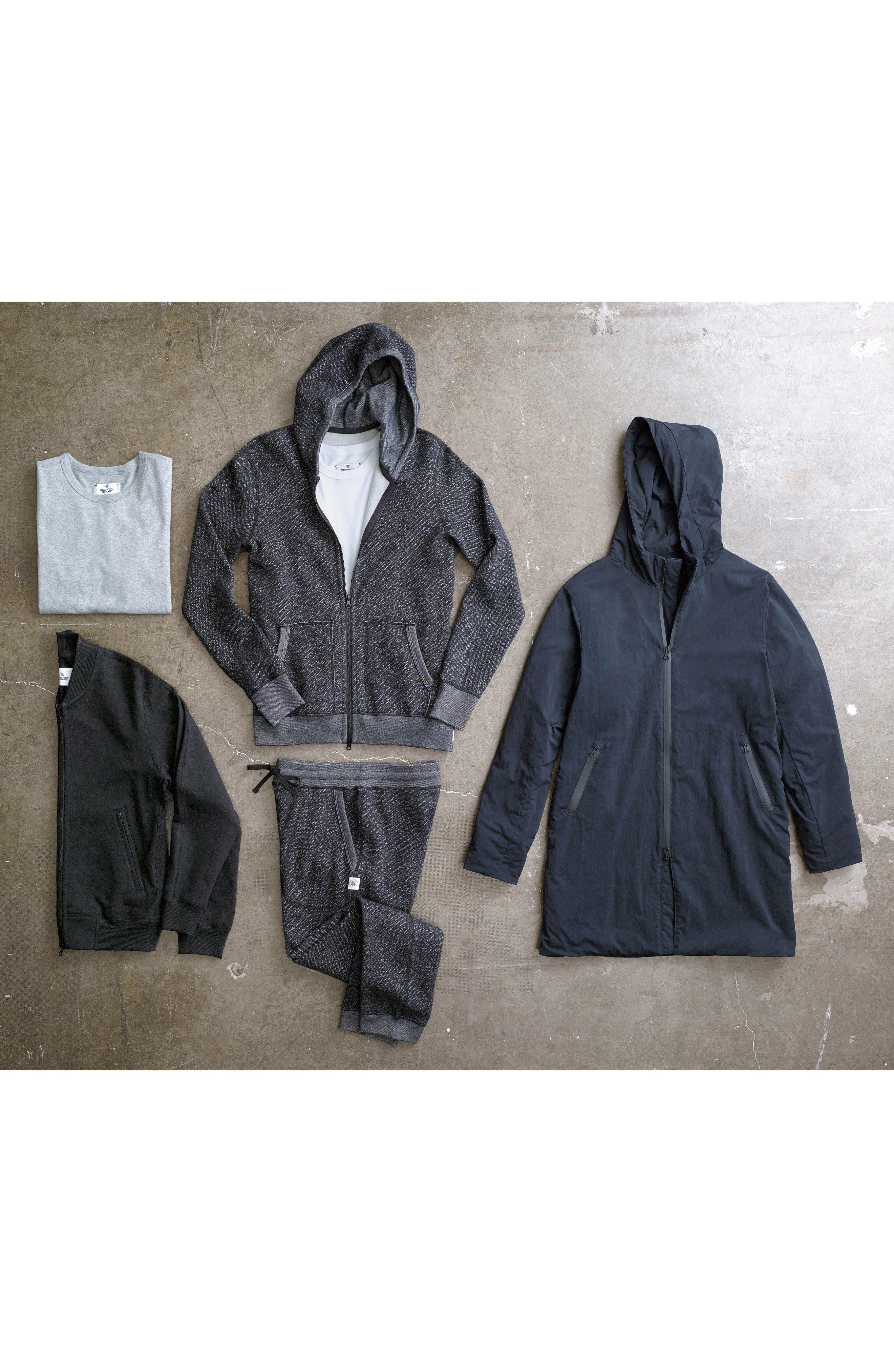 Insulated Trim Sideline Jacket,                             Alternate thumbnail 7, color,