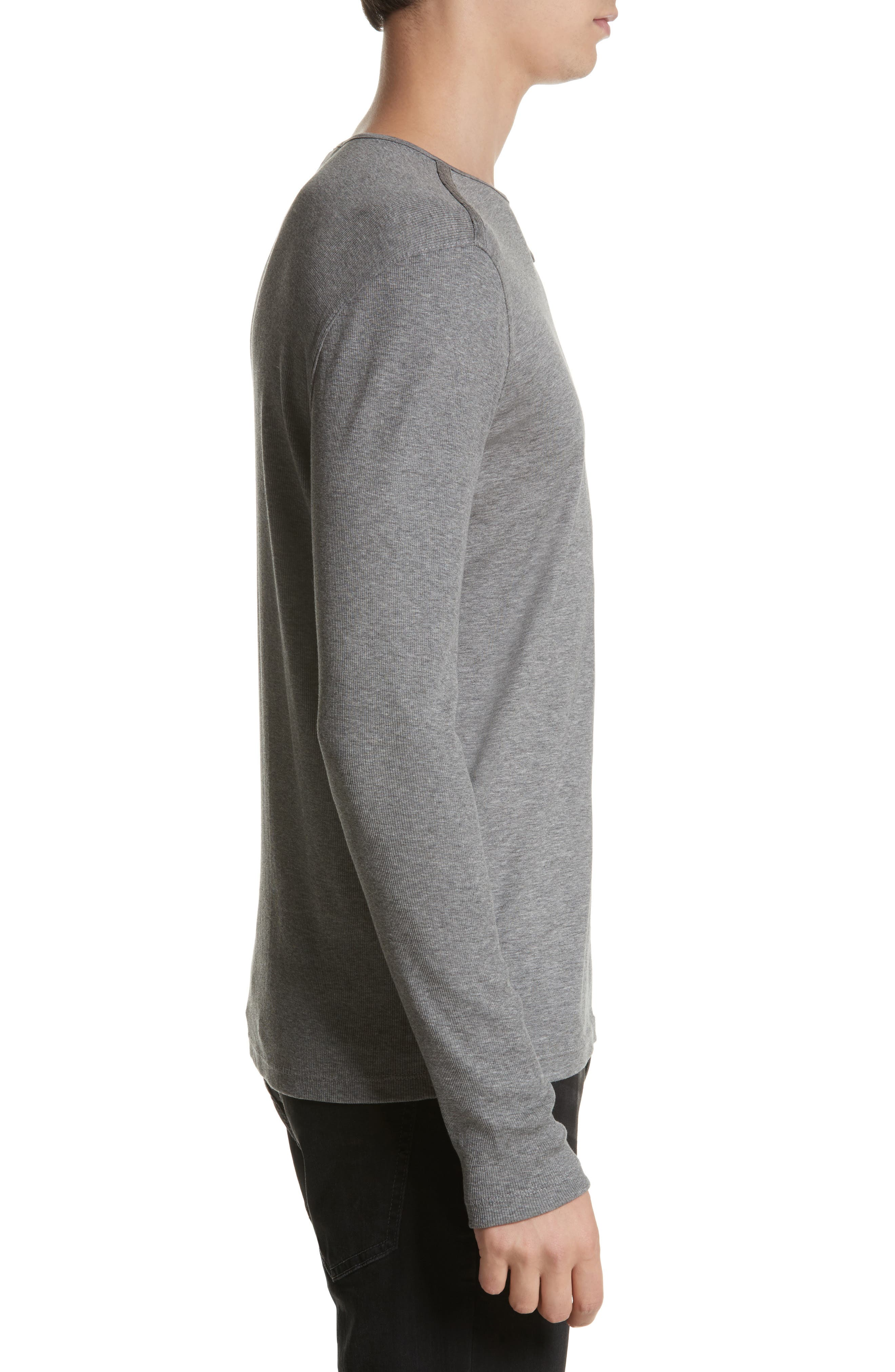 Alternate Image 3  - John Varvatos Collection Tab Crewneck T-Shirt
