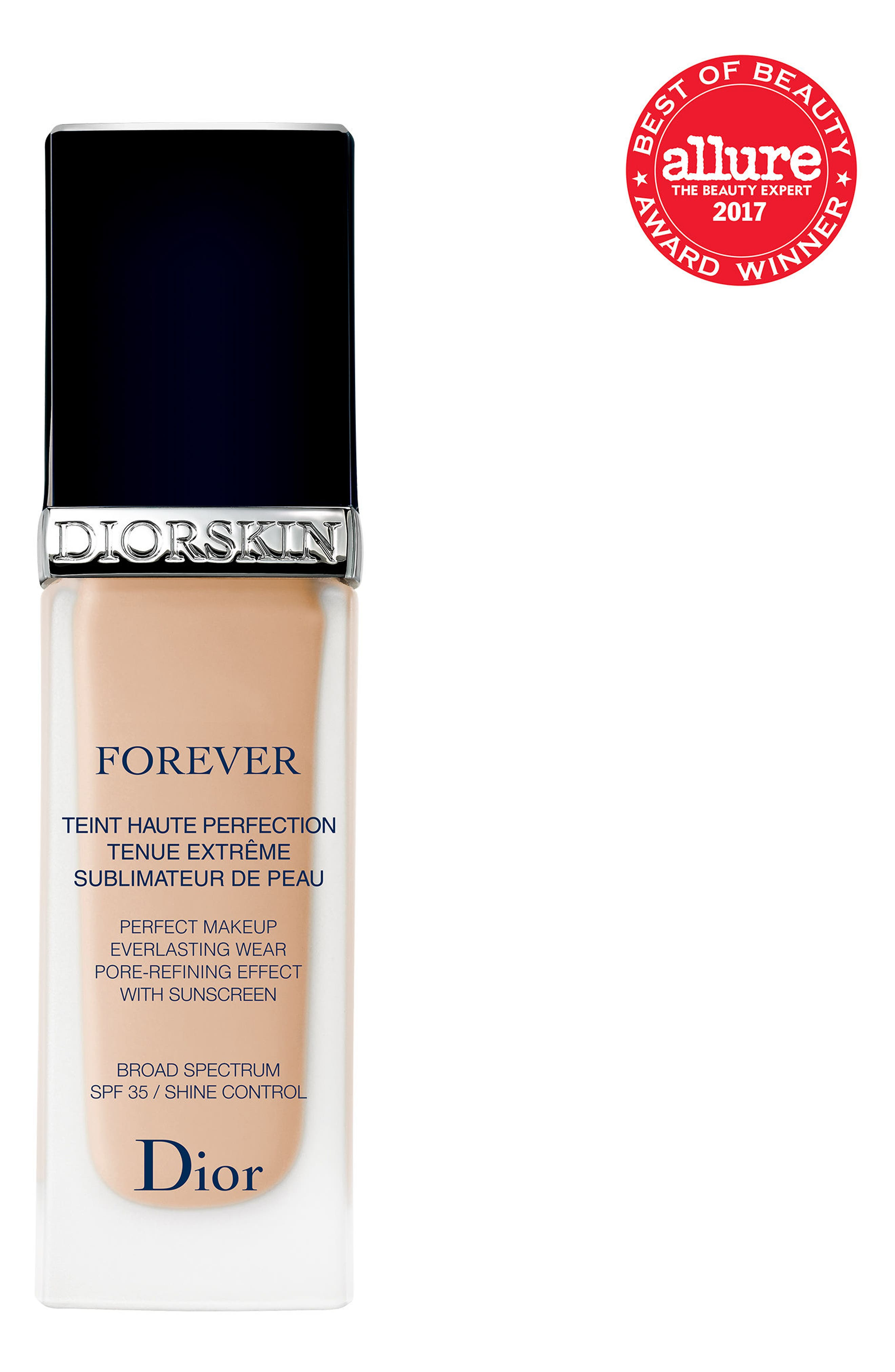Alternate Image 2  - Dior 'Diorskin Forever' Fluid Flawless Perfection Fusion Wear Makeup SPF 25