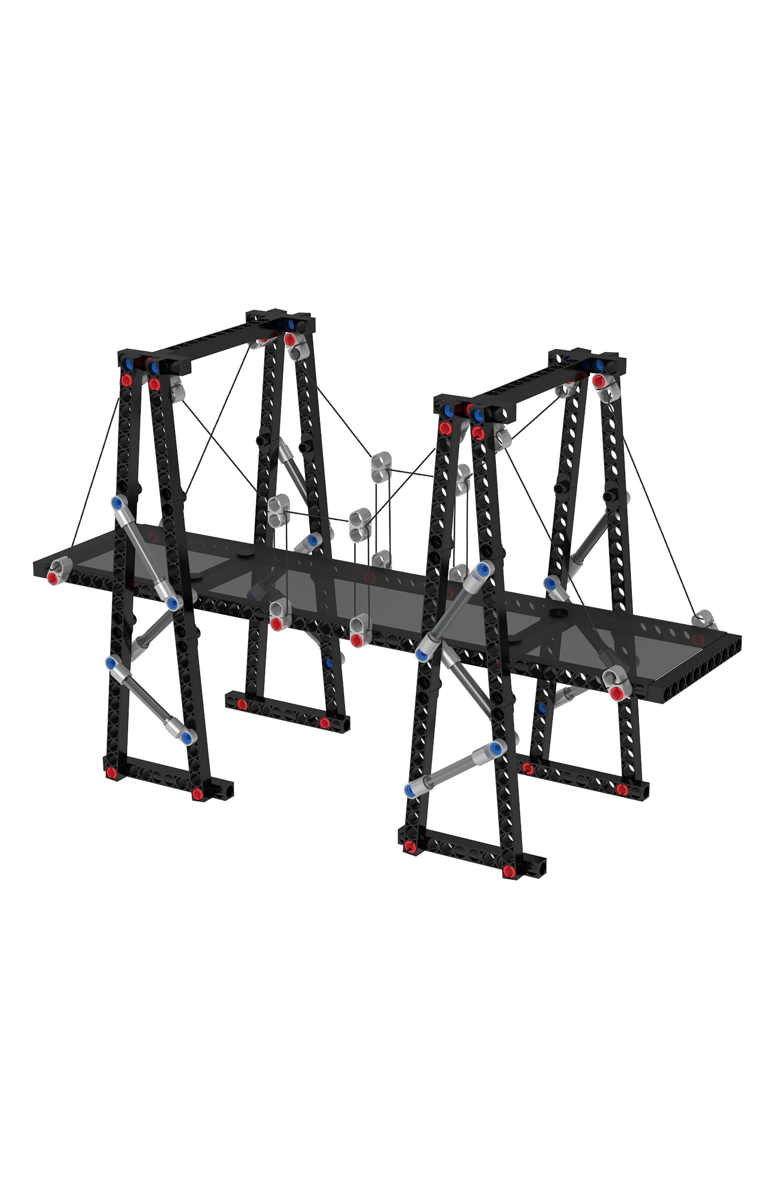 Alternate Image 13  - Thames & Kosmos Structural Engineering 323-Piece Bridges & Skyscrapers Building Kit