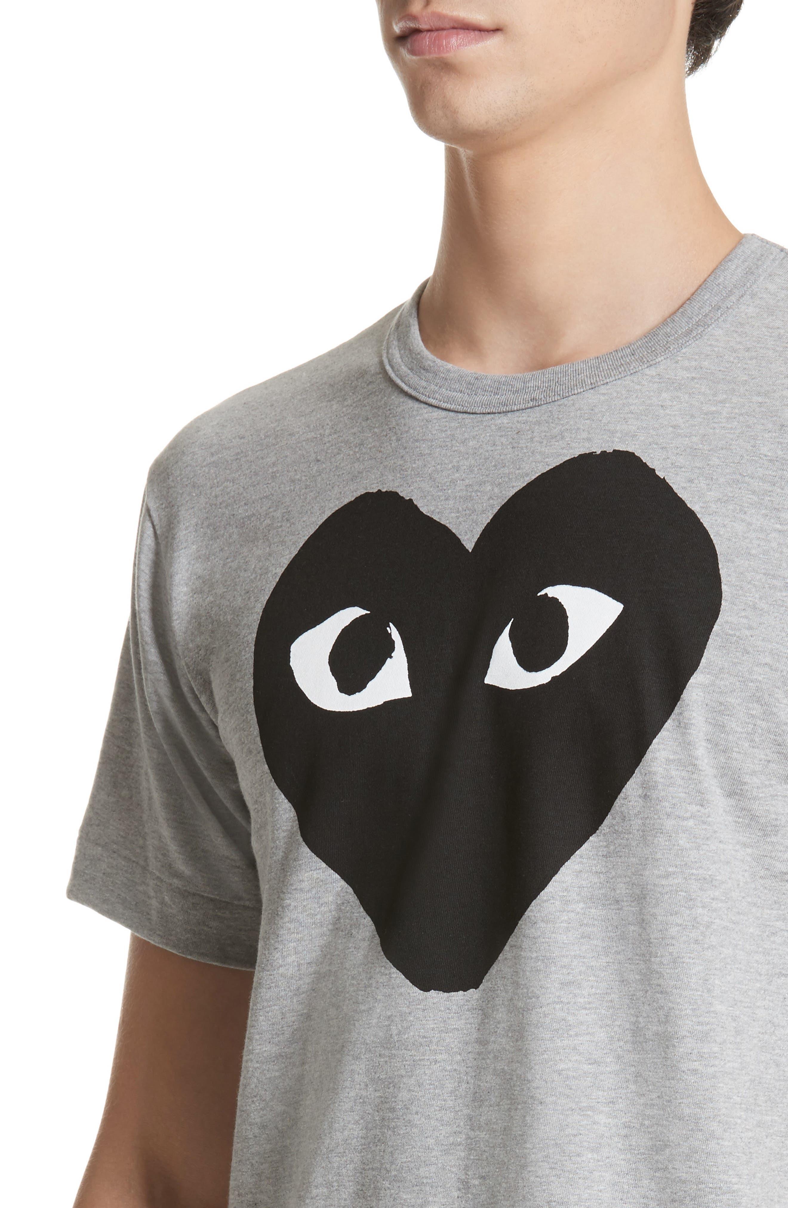 Alternate Image 4  - Comme des Garçons PLAY Logo Graphic Crewneck T-Shirt