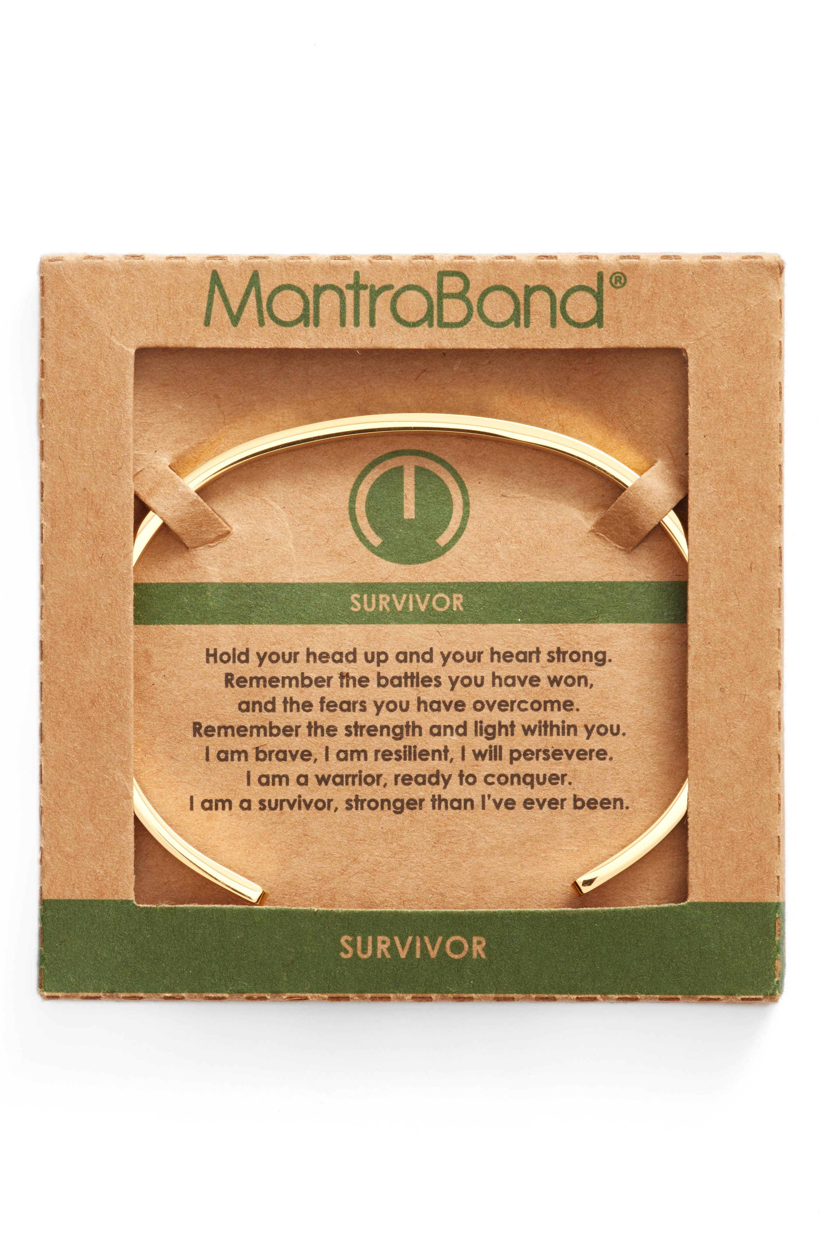 Survivor Bracelet,                             Alternate thumbnail 2, color,                             Gold