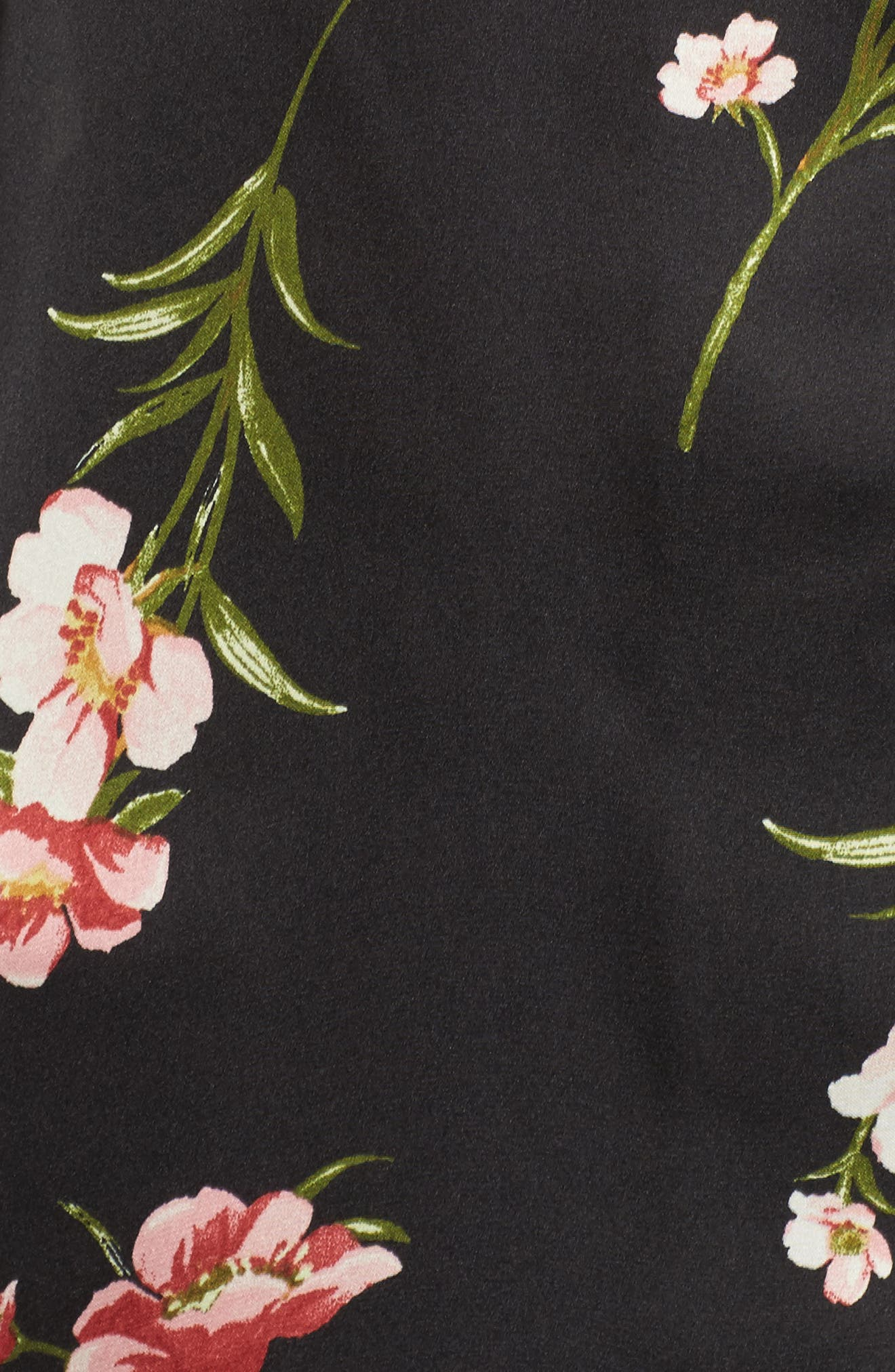 Alternate Image 5  - Socialite Floral PJ Shirt