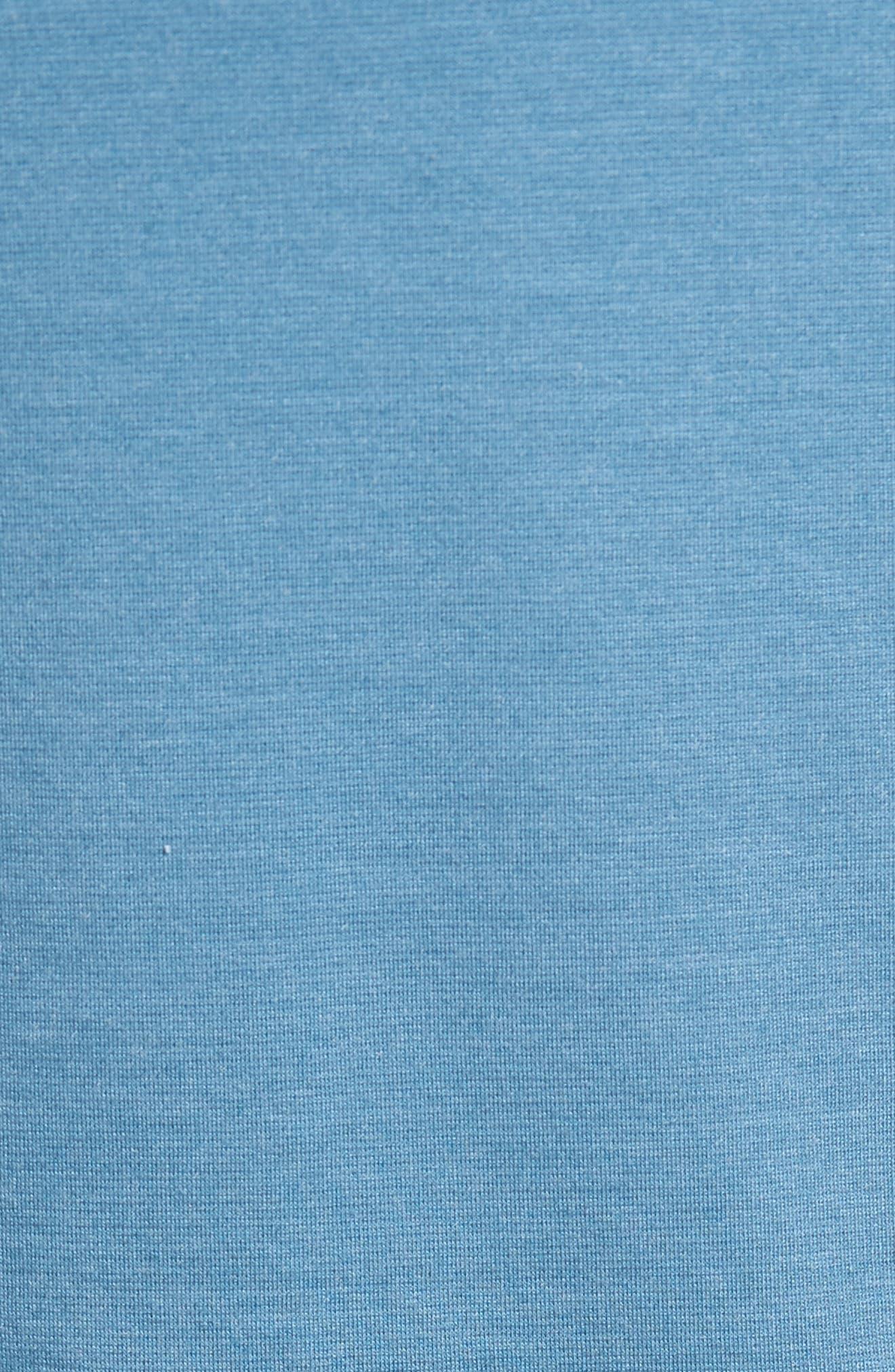 Quarter Zip Pullover,                             Alternate thumbnail 5, color,                             Blue