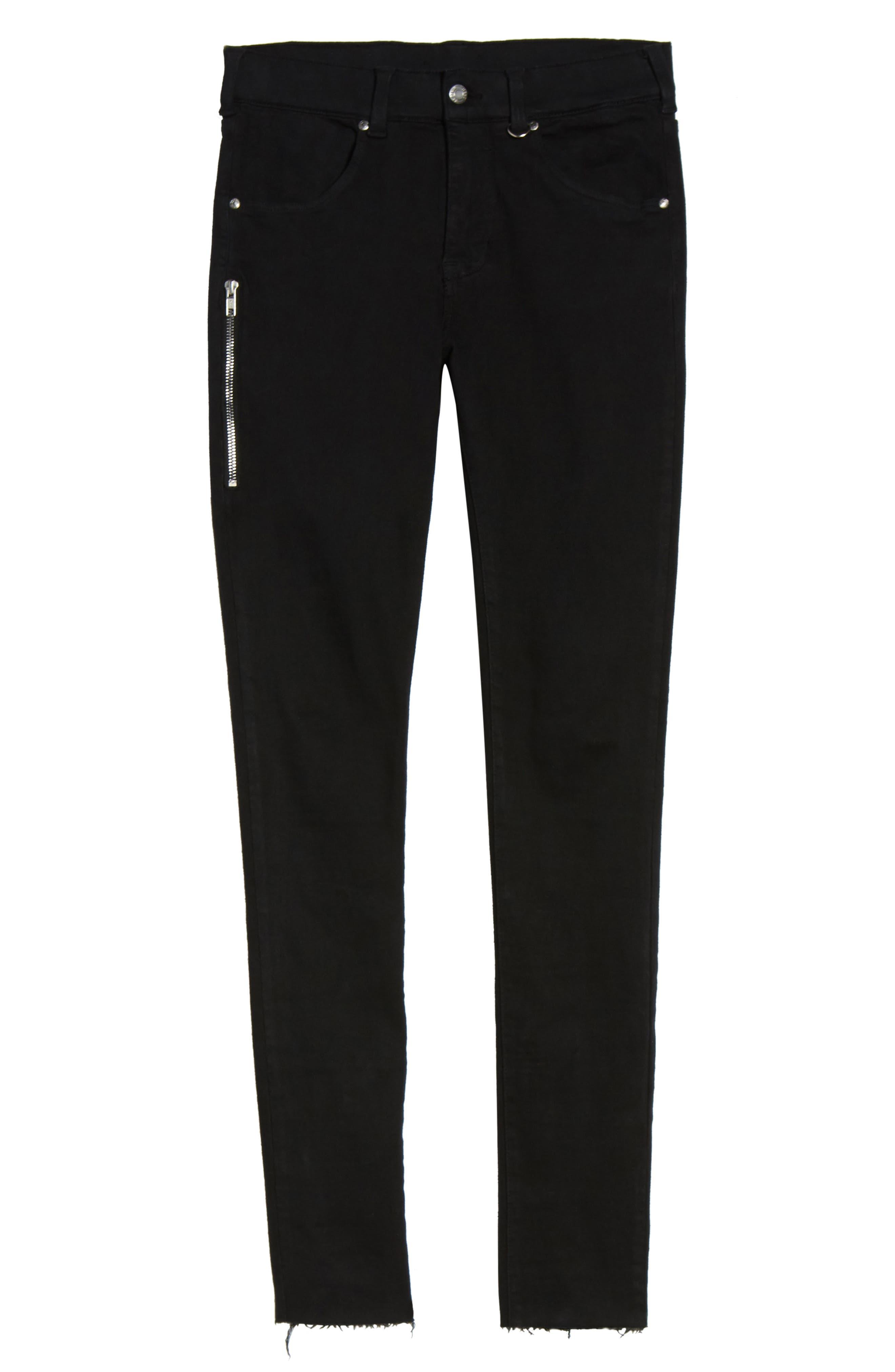 Alternate Image 6  - Dr. Denim Supply Co. Leroy Skinny Fit Jeans (Black Punk)