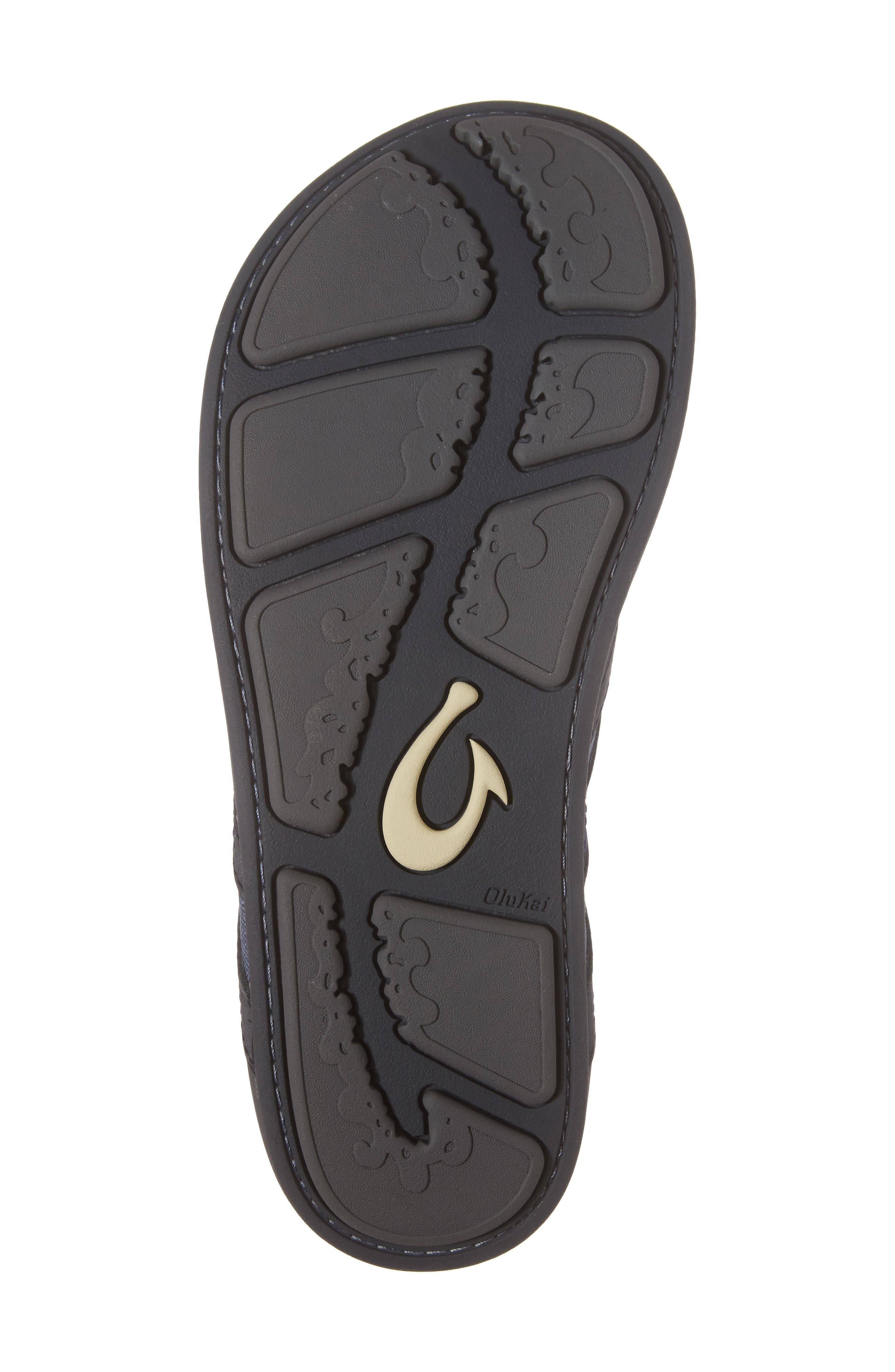 Ikoi Flip Flop,                             Alternate thumbnail 6, color,                             Trench Blue Leather