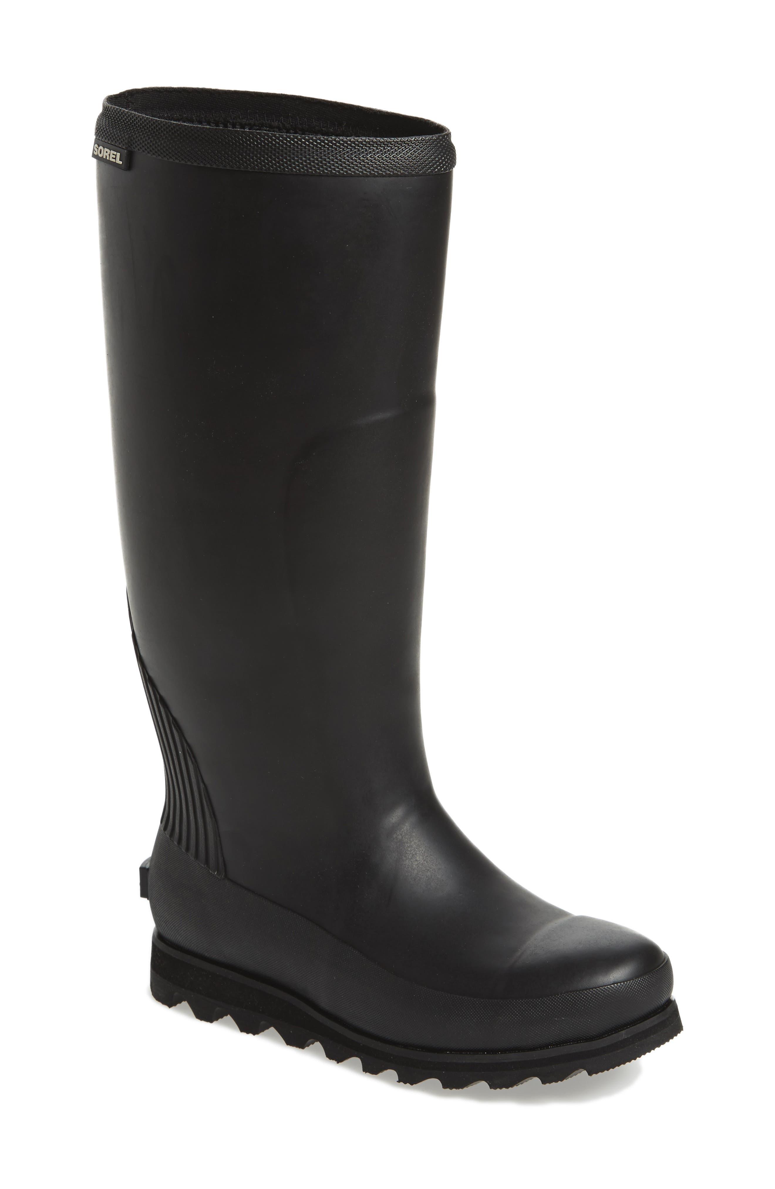 Alternate Image 1 Selected - SOREL Joan Tall Rain Boot (Women)