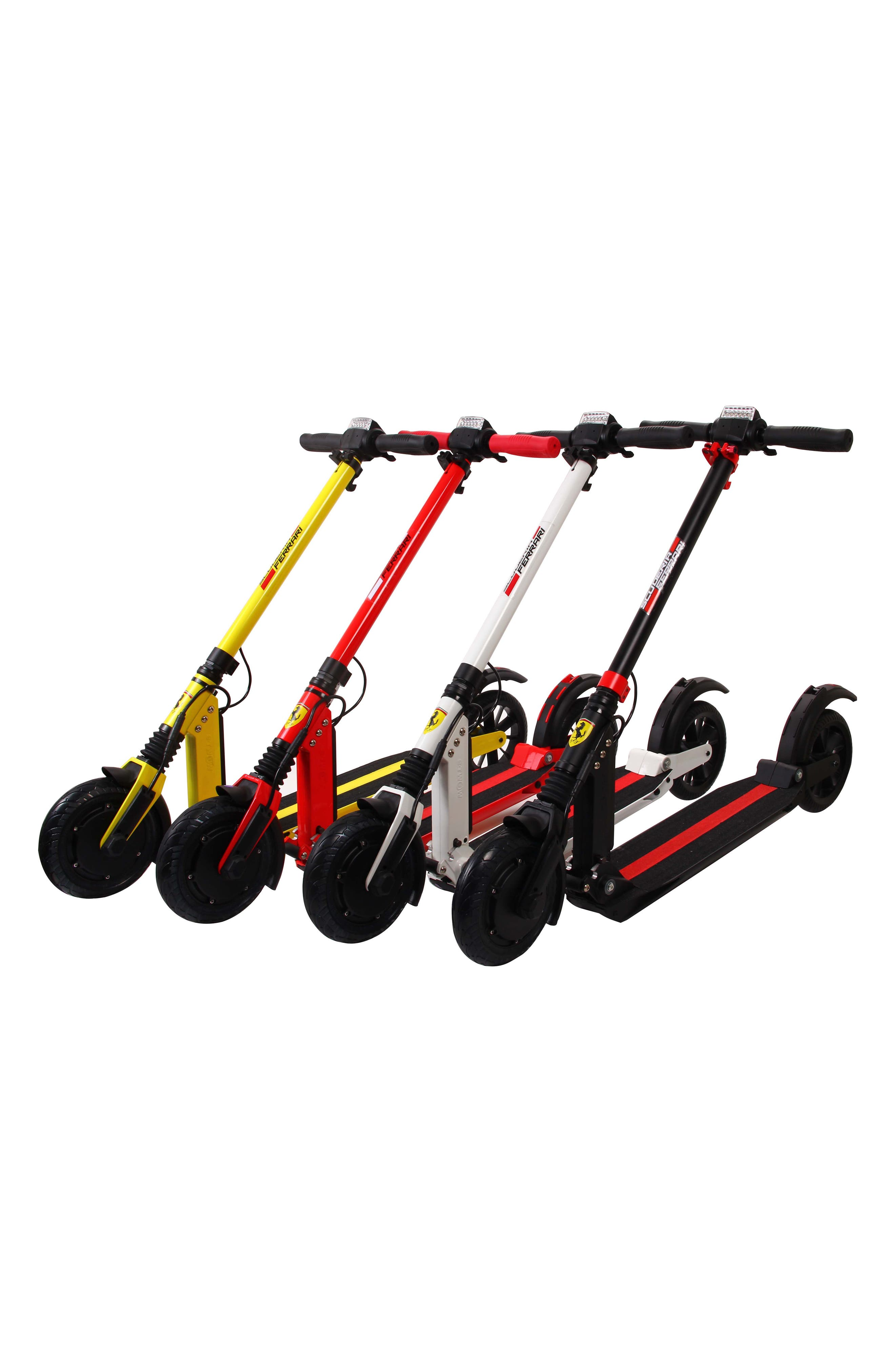 Electric Scooter,                             Alternate thumbnail 2, color,                             Black