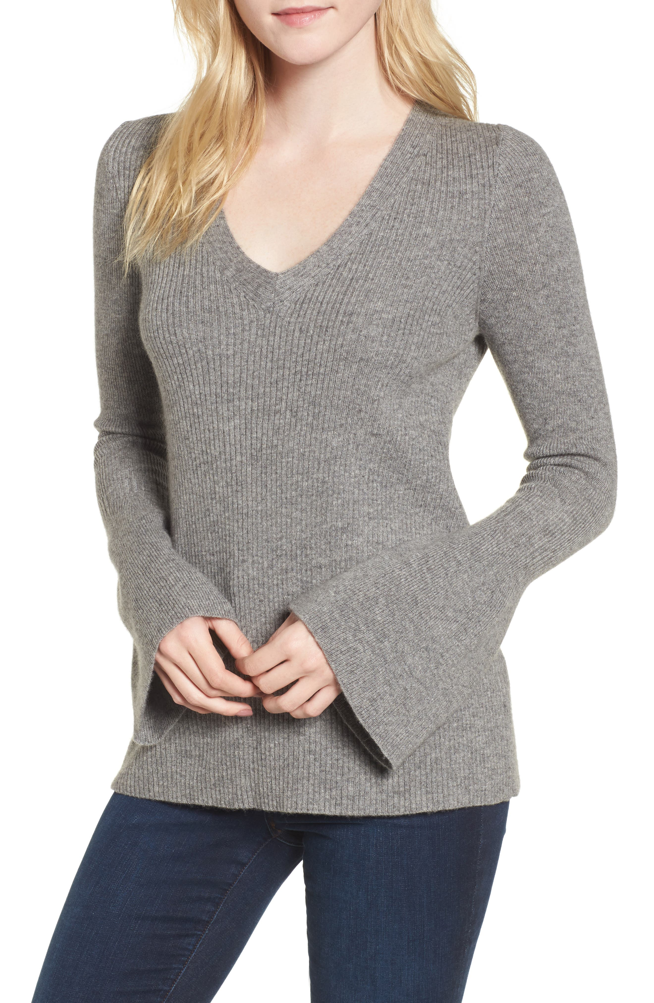 Rebecca Minkoff Stevie Bell Sleeve Sweater