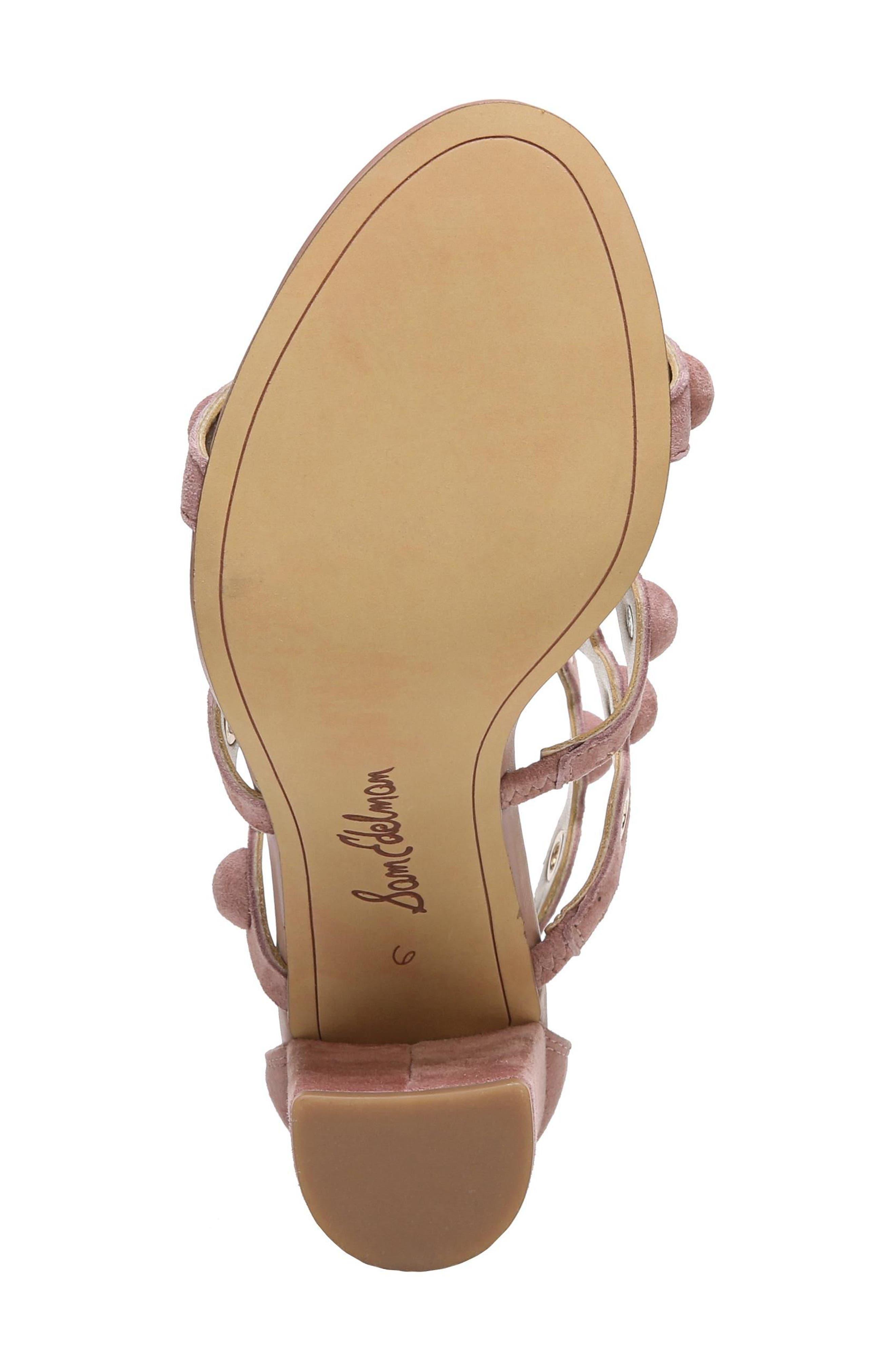 Alternate Image 7  - Sam Edelman Yuli Grommet Sandal (Women)