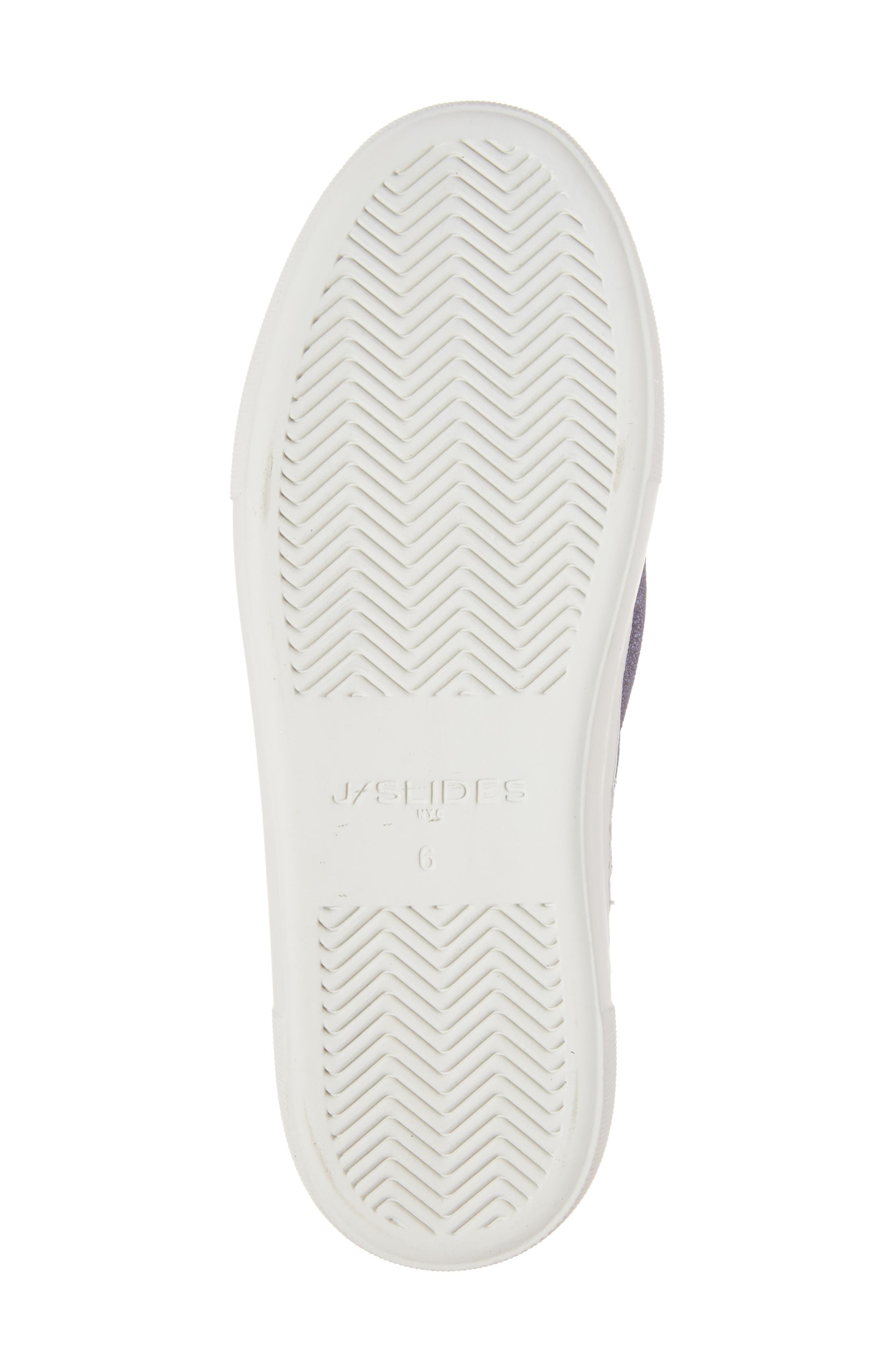 Audra Slip-On Sneaker,                             Alternate thumbnail 6, color,                             Navy Leather