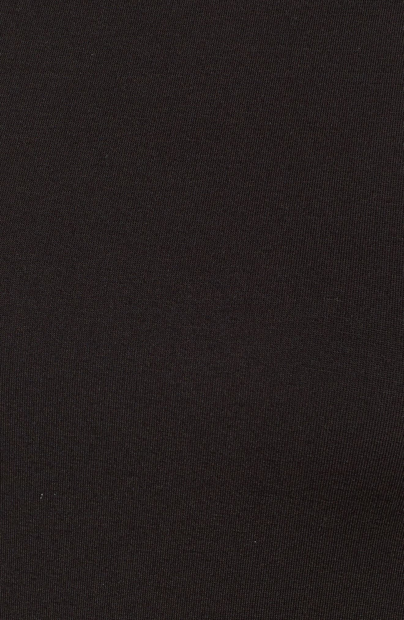 Alternate Image 5  - Amour Vert Turtleneck Maxi Dress