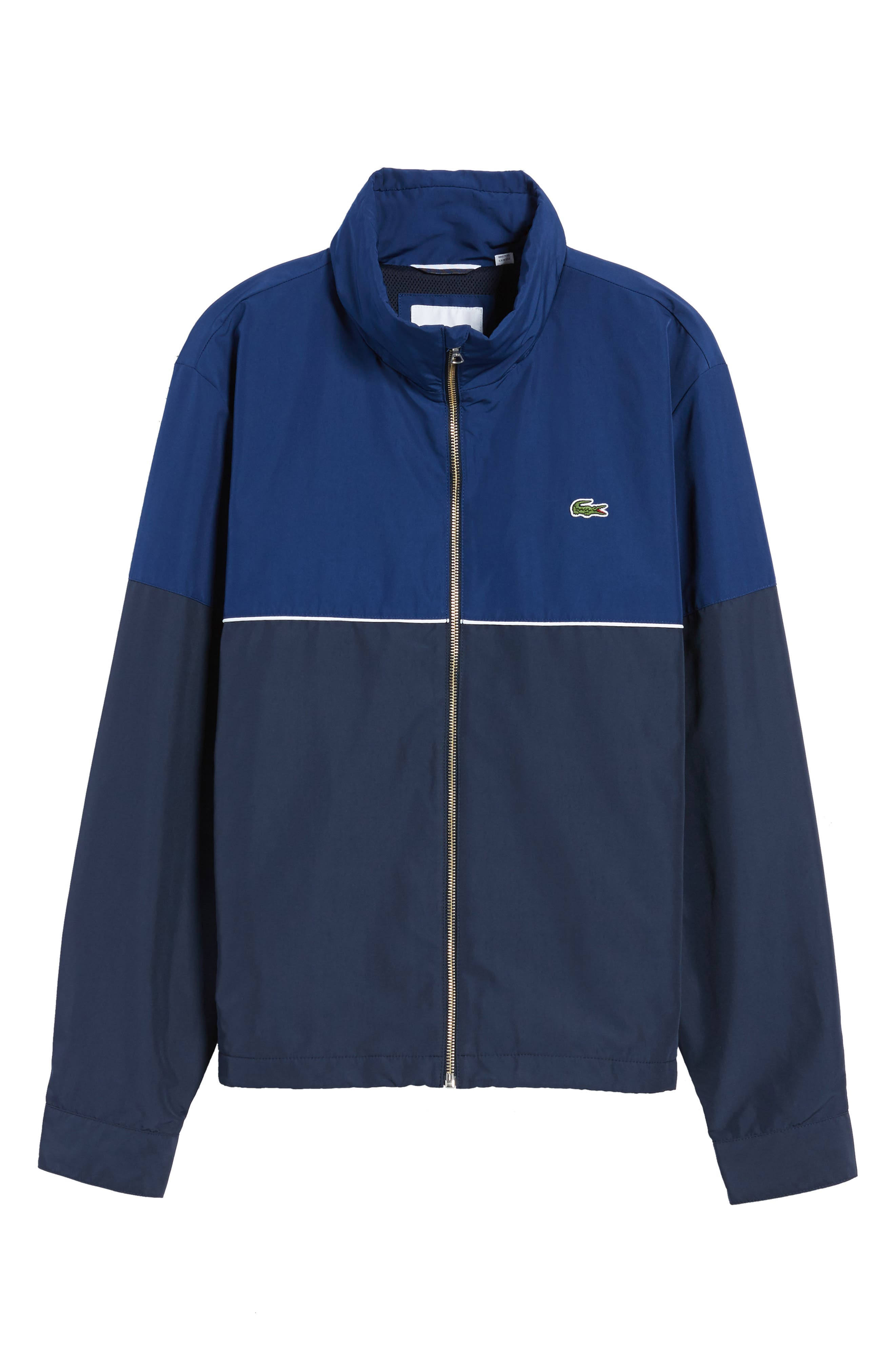 Alternate Image 6  - Lacoste Water Resistant Hooded Parka