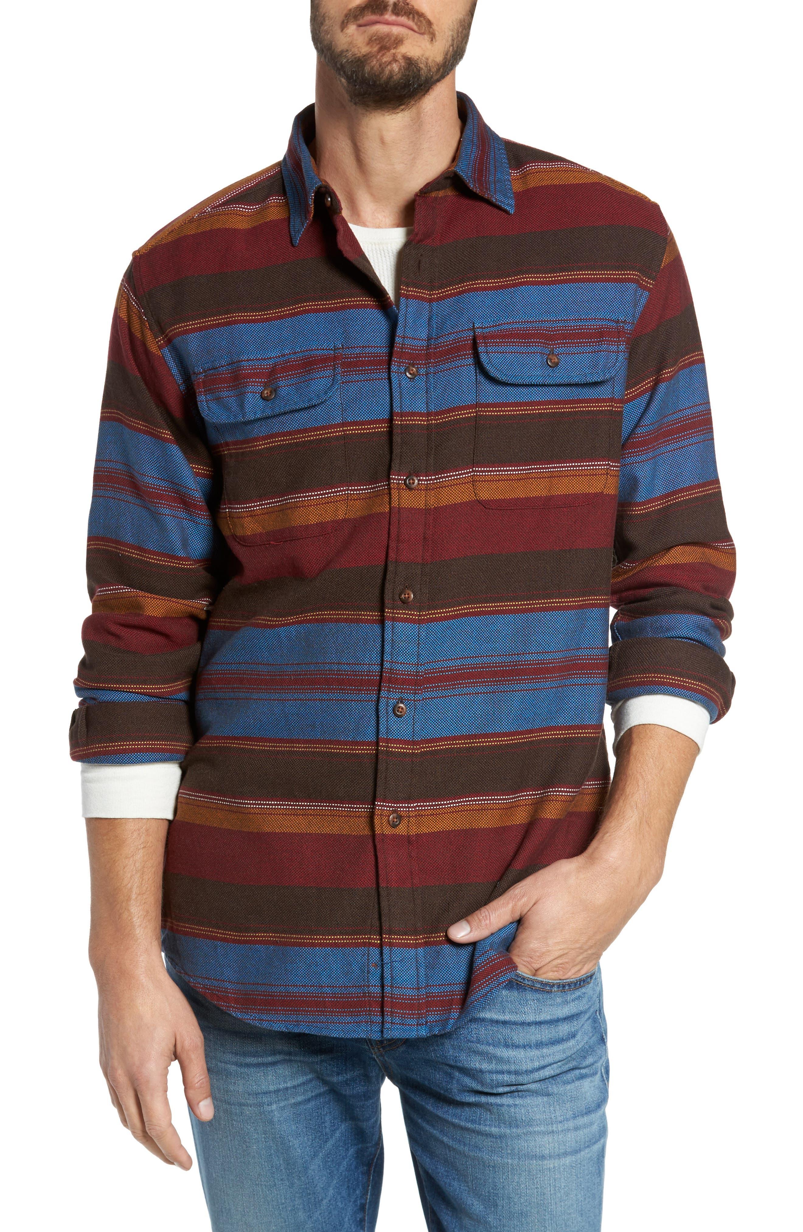 Main Image - Pendleton Camber Striped Sport Shirt